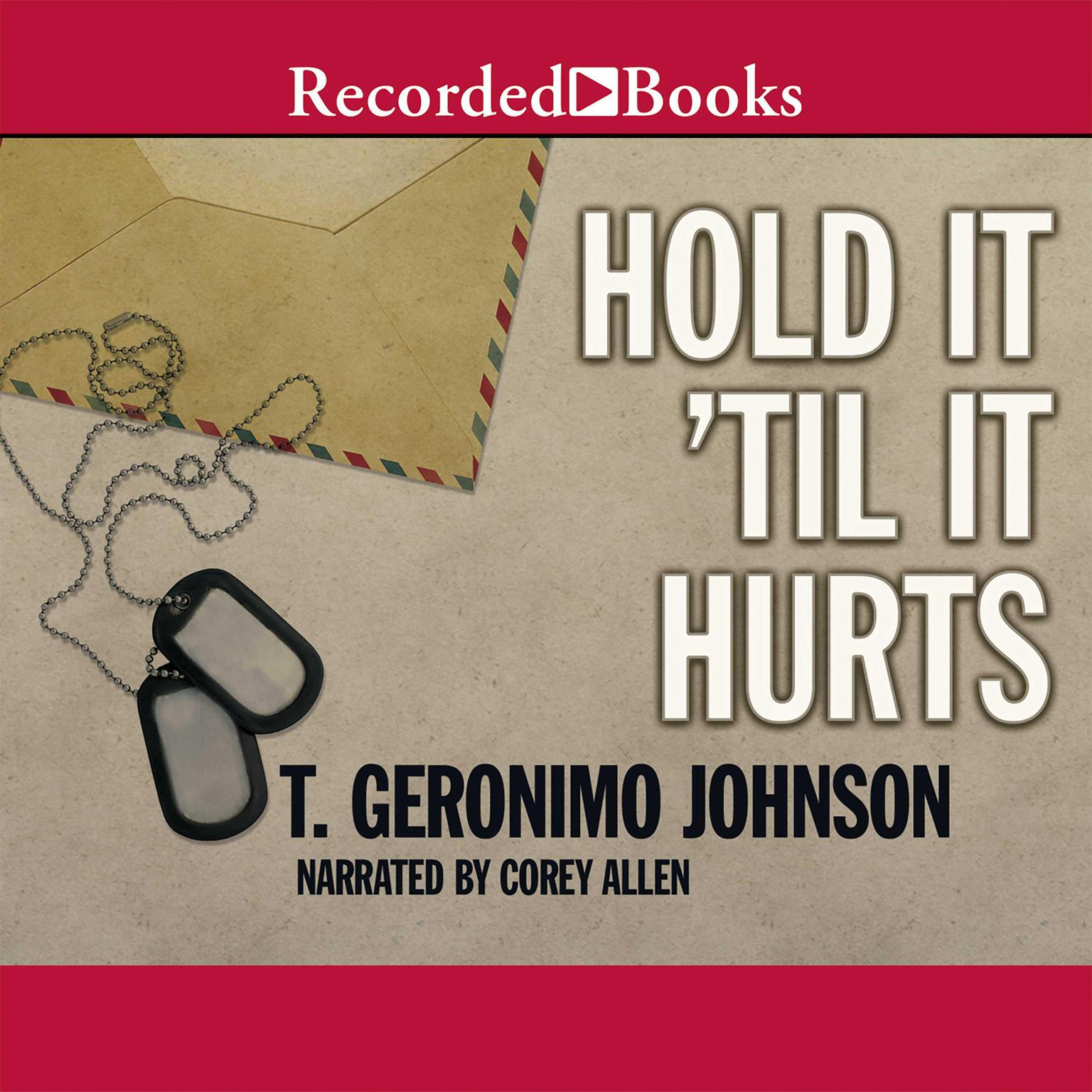 Printable Hold It 'til It Hurts Audiobook Cover Art