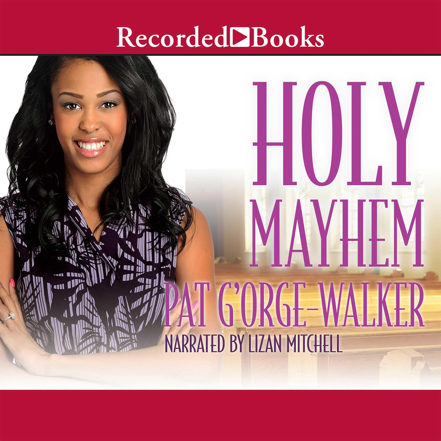 Printable Holy Mayhem Audiobook Cover Art