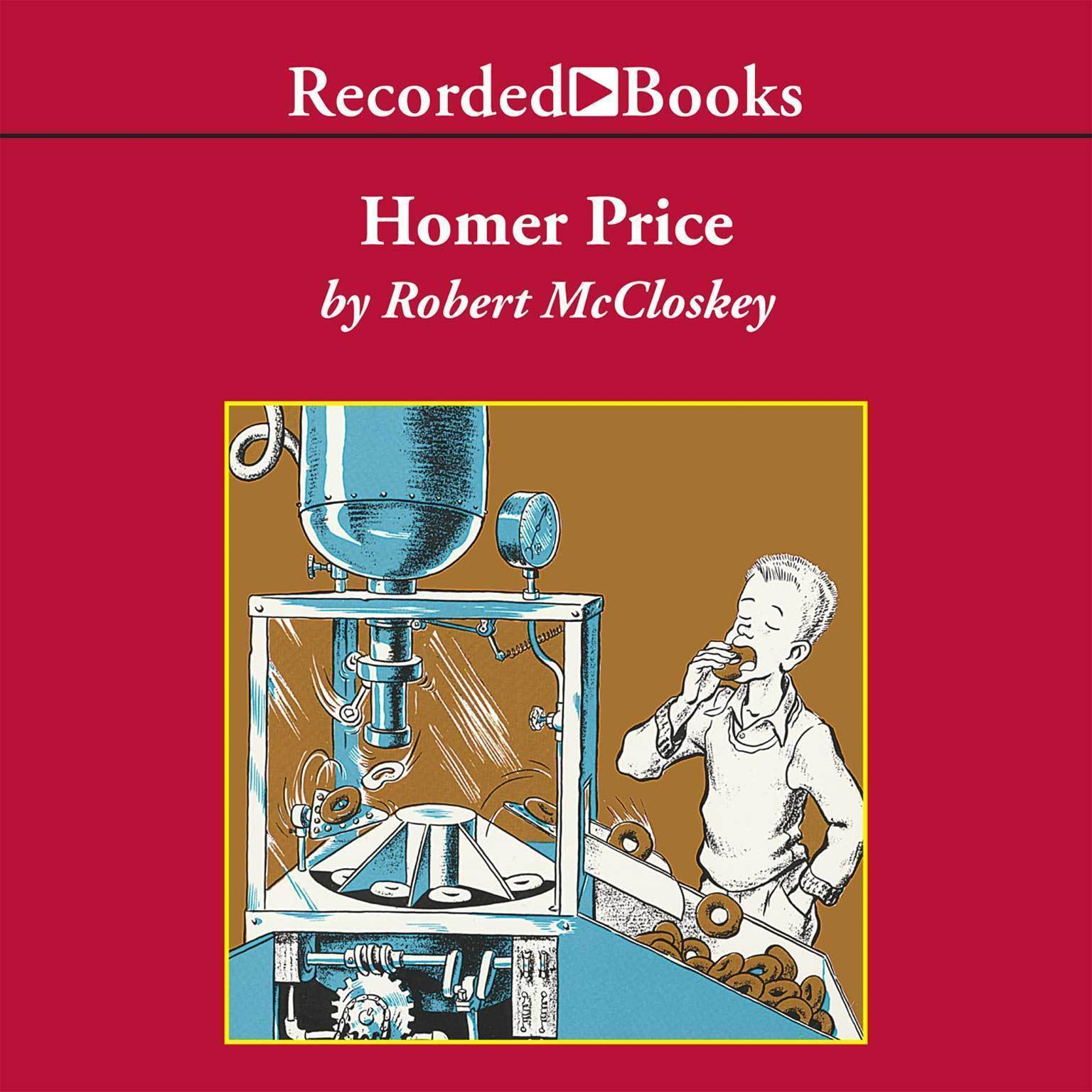 Printable Homer Price Audiobook Cover Art