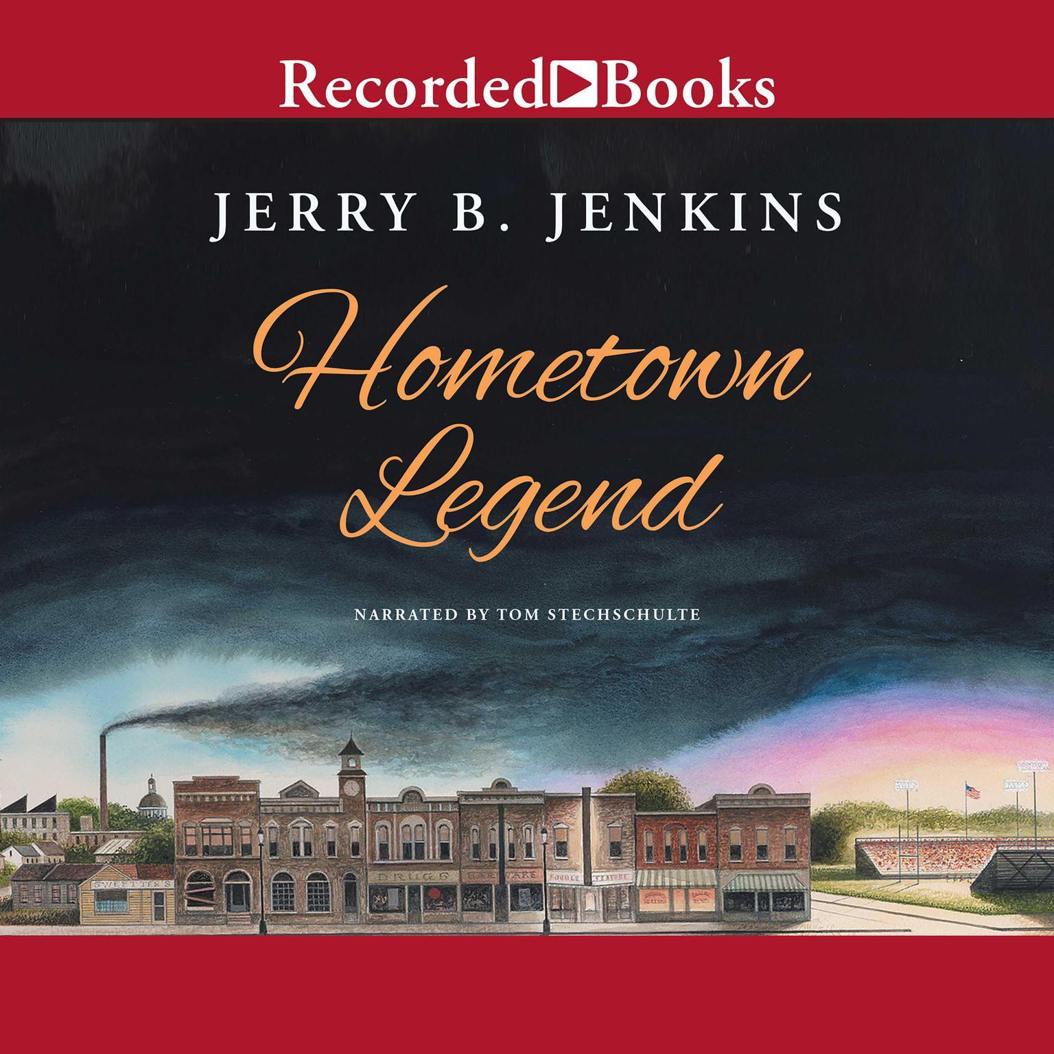 Printable Hometown Legend Audiobook Cover Art