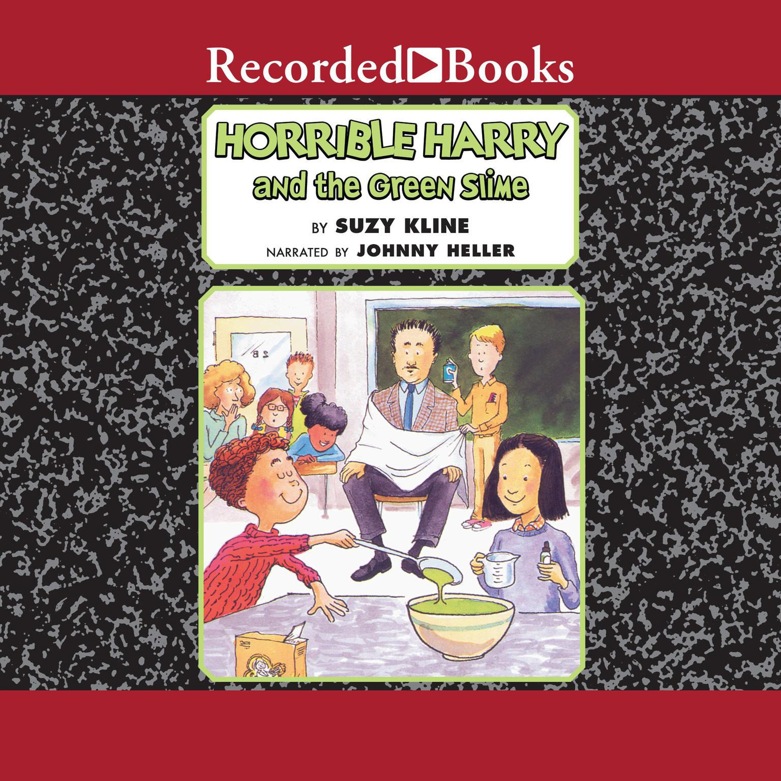 Printable Horrible Harry and the Green Slime Audiobook Cover Art