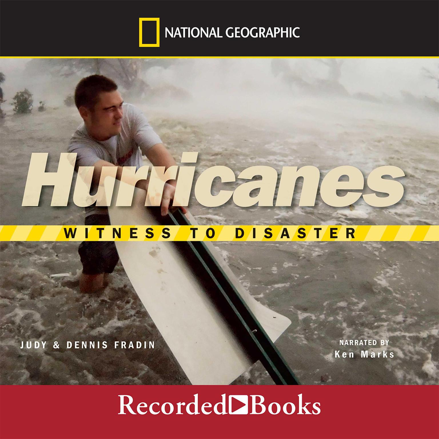 Printable Hurricanes: Witness to Disaster Audiobook Cover Art