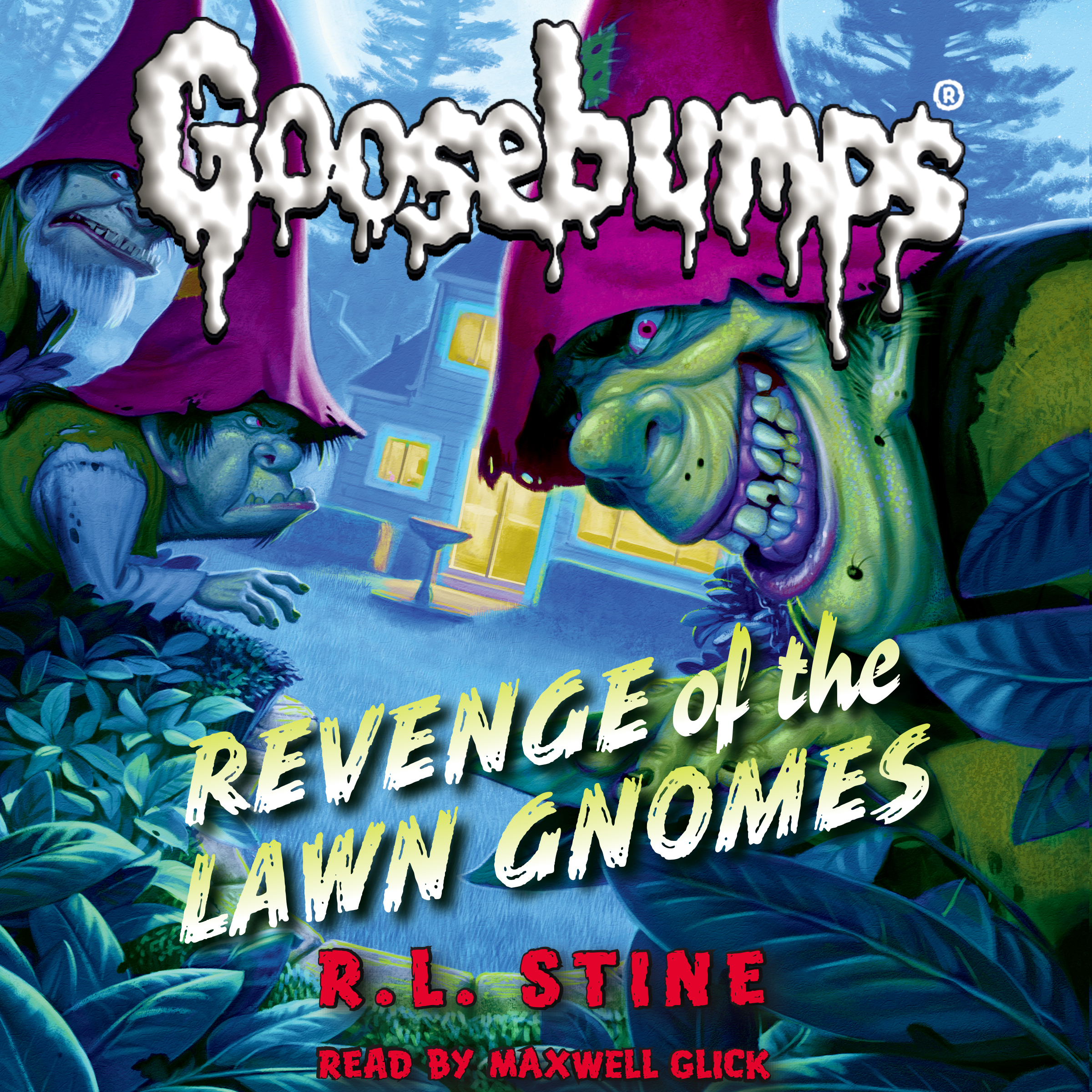 Printable  Revenge of the Lawn Gnomes Audiobook Cover Art
