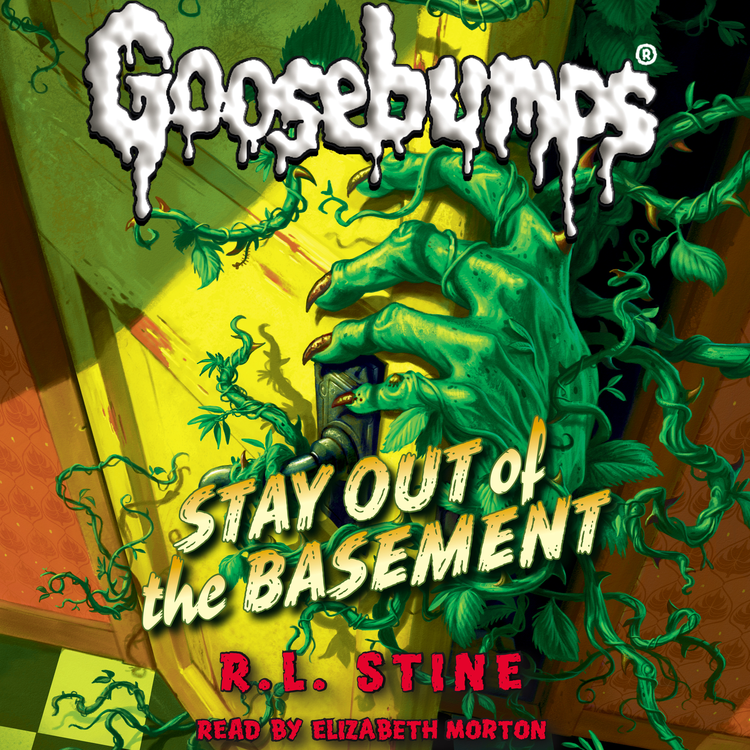 Printable Stay out of the Basement Audiobook Cover Art