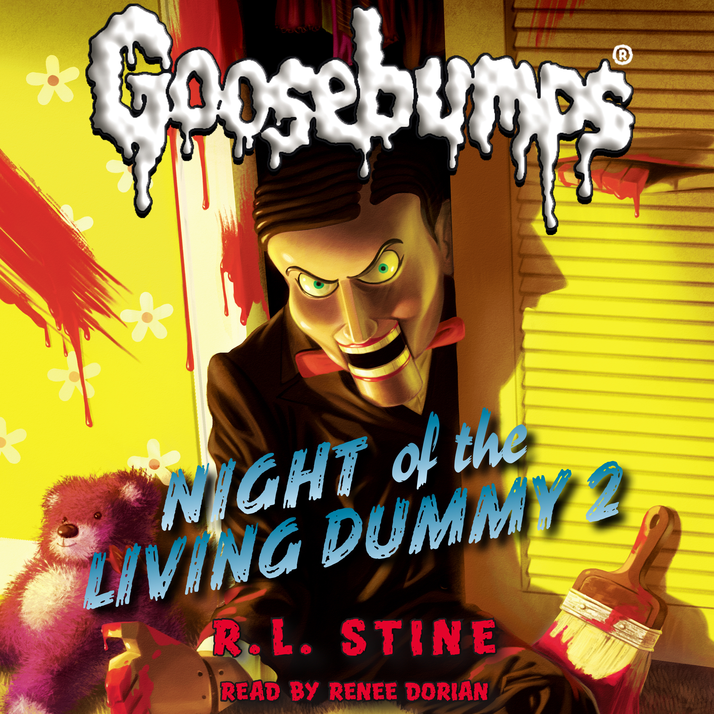 Printable Night of the Living Dummy 2 Audiobook Cover Art