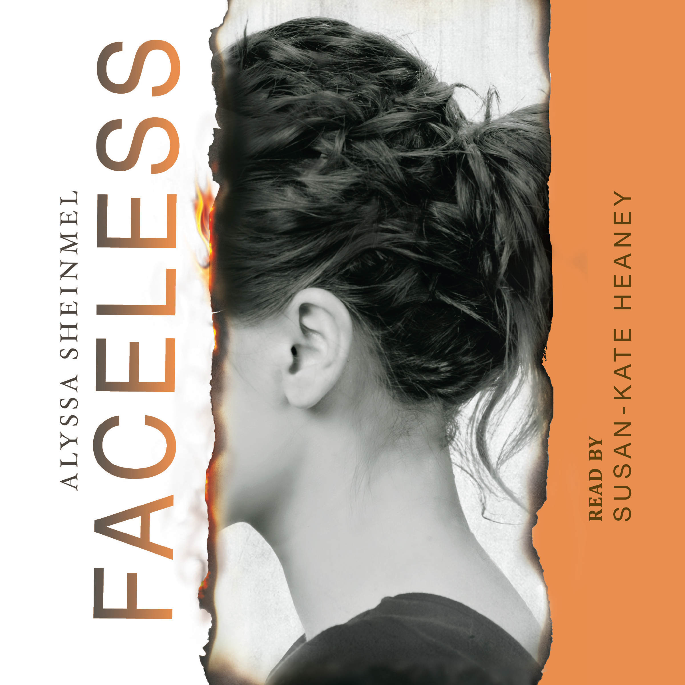 Printable Faceless Audiobook Cover Art