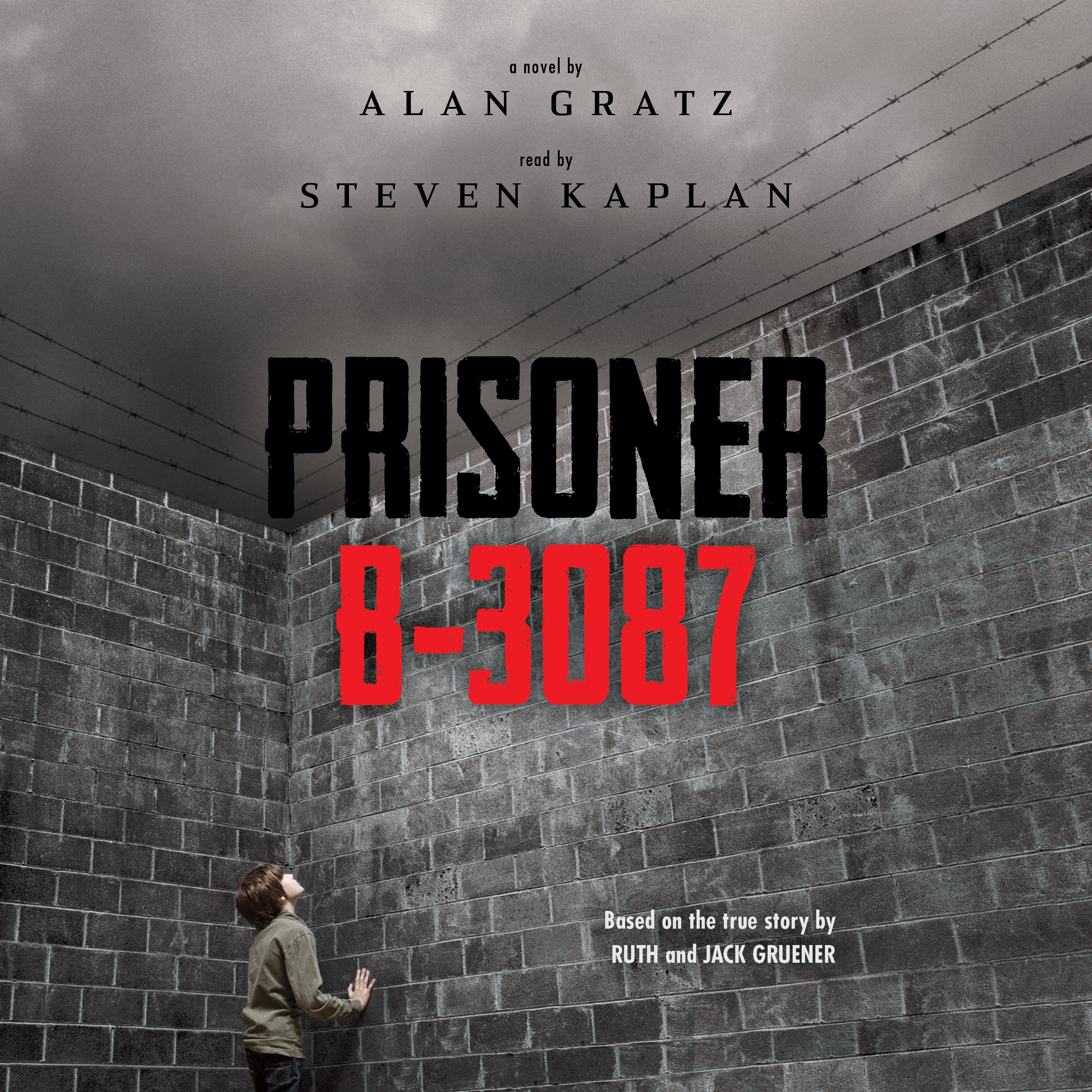 Printable Prisoner B-3087 Audiobook Cover Art