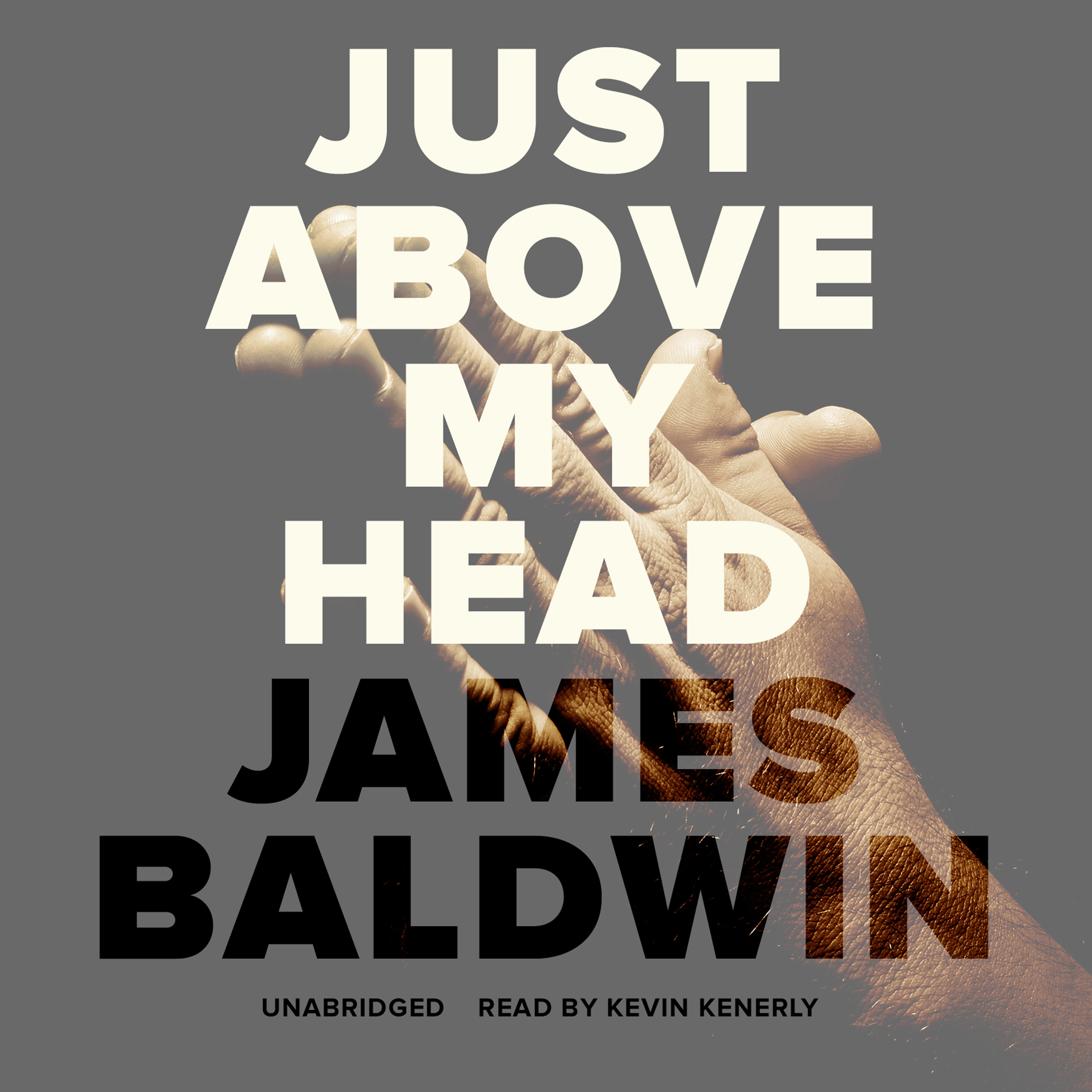 Printable Just above My Head Audiobook Cover Art