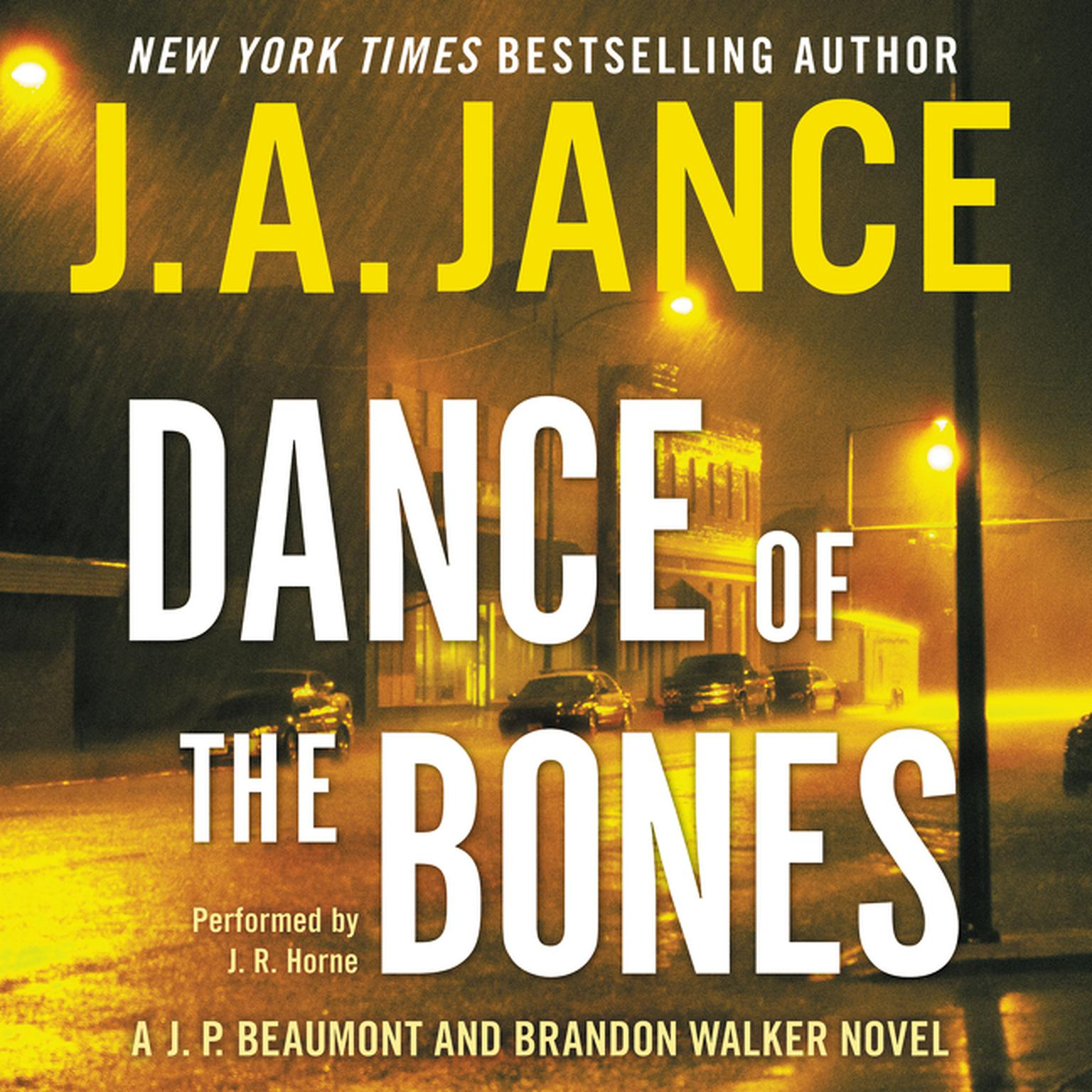 Printable Dance of the Bones: A J. P. Beaumont and Brandon Walker Novel Audiobook Cover Art