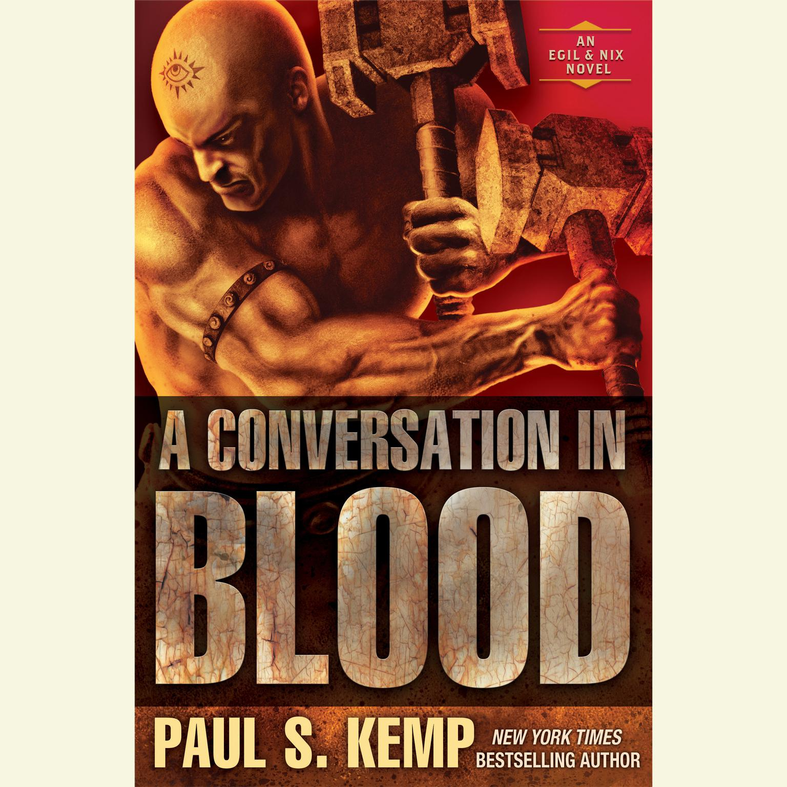 Printable A Conversation in Blood: An Egil & Nix Novel Audiobook Cover Art