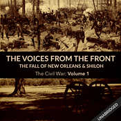 Voices From the Front: The Fall of New Orleans & Shiloh Audiobook, by Julie M. Fenster