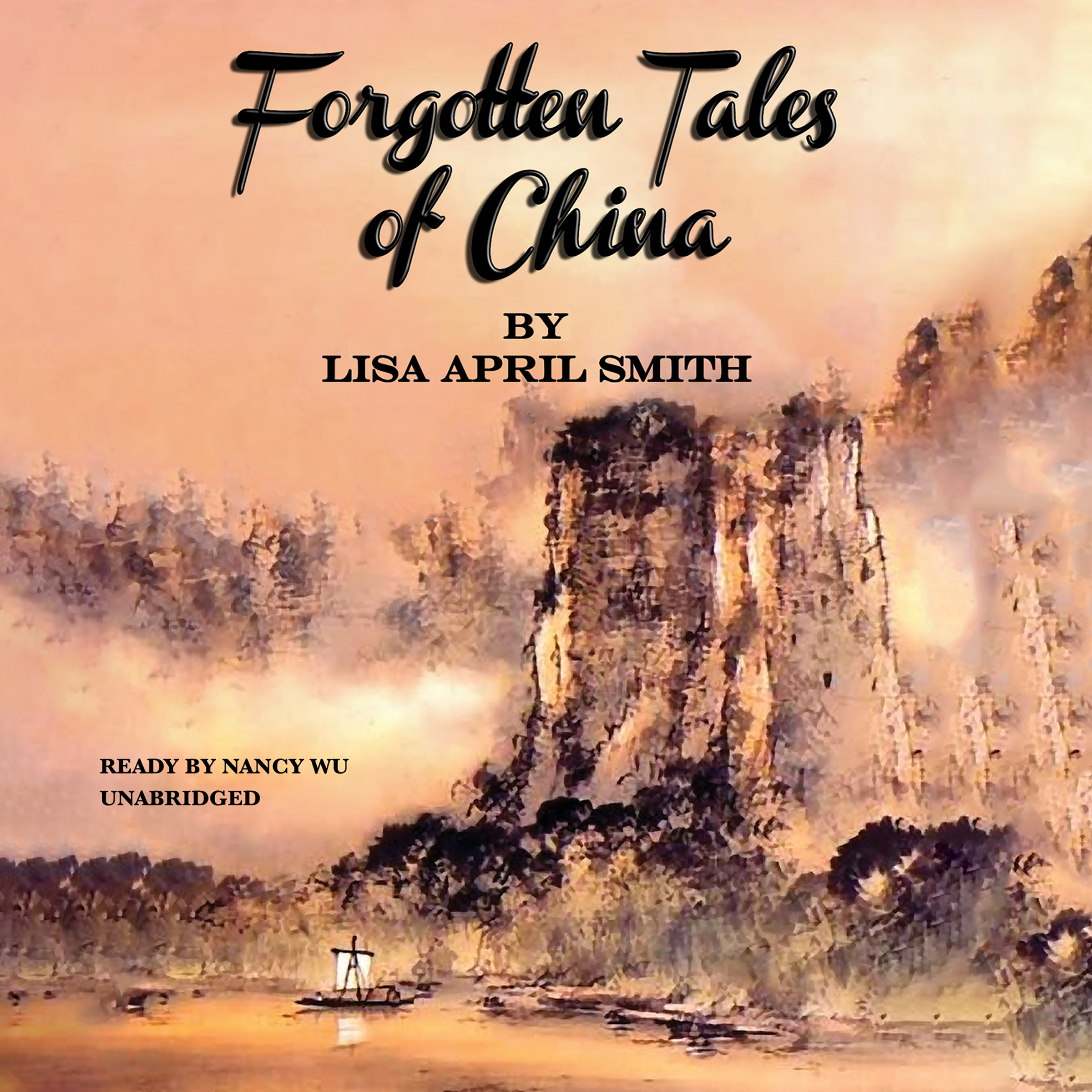 Printable Forgotten Tales of China Audiobook Cover Art
