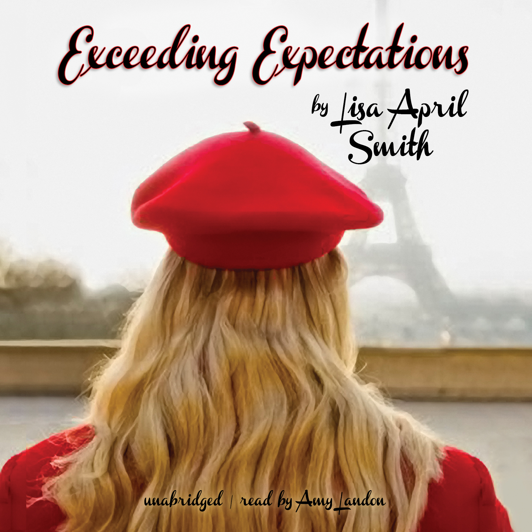 Printable Exceeding Expectations Audiobook Cover Art