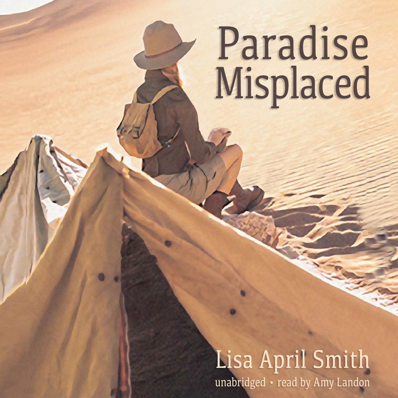 Printable Paradise Misplaced Audiobook Cover Art