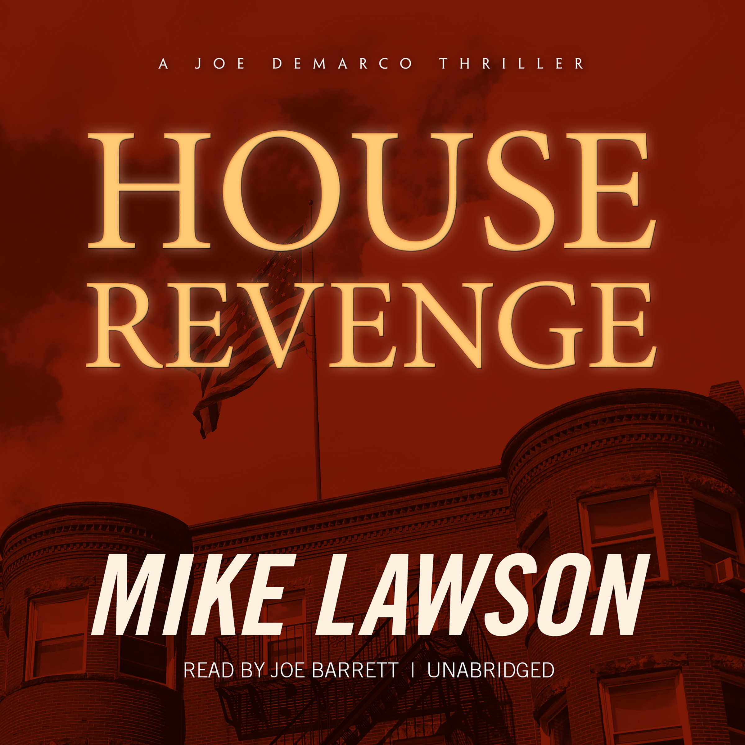 Printable House Revenge: A Joe DeMarco Thriller Audiobook Cover Art