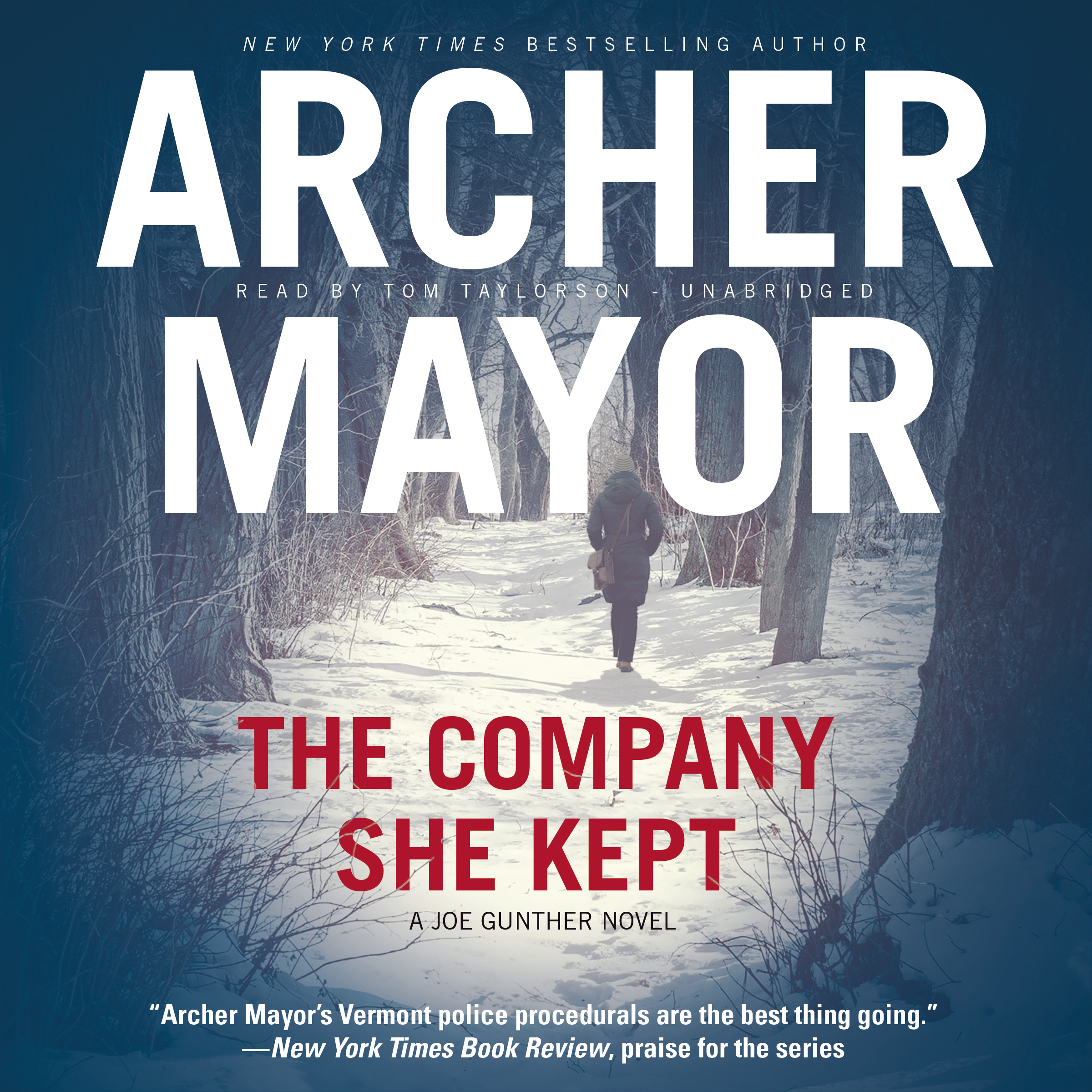 Printable The Company She Kept: A Joe Gunther Novel Audiobook Cover Art