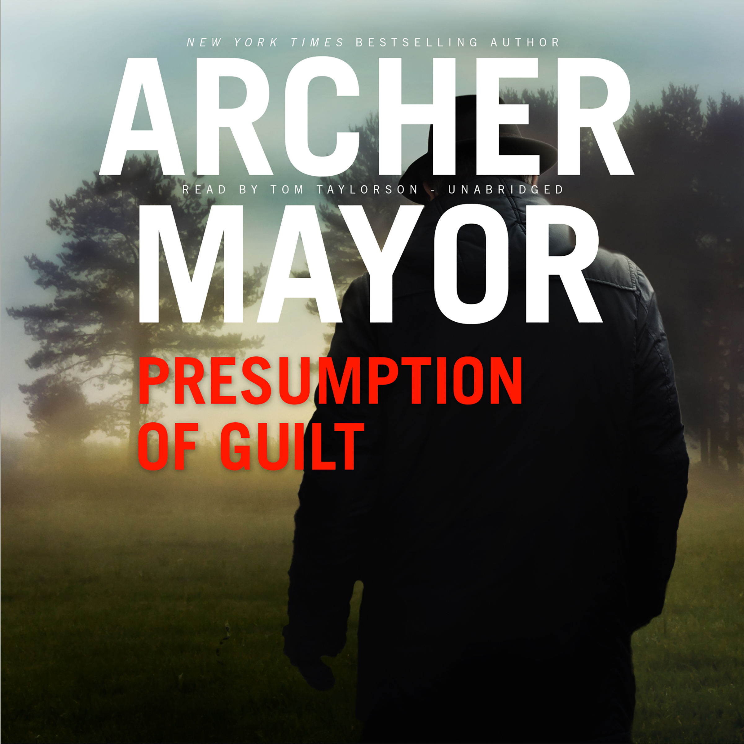 Printable Presumption of Guilt: A Joe Gunther Novel Audiobook Cover Art