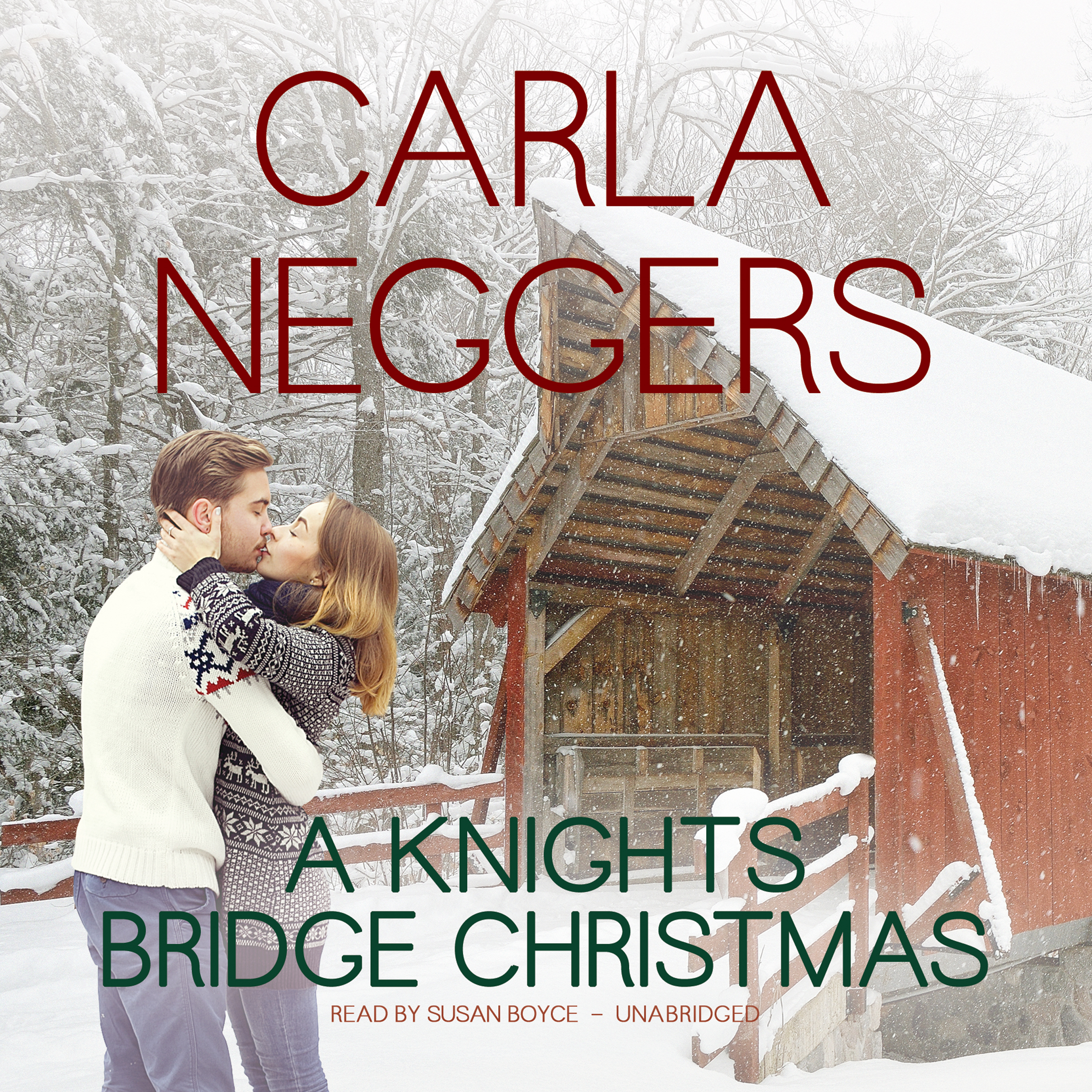 Printable A Knights Bridge Christmas Audiobook Cover Art