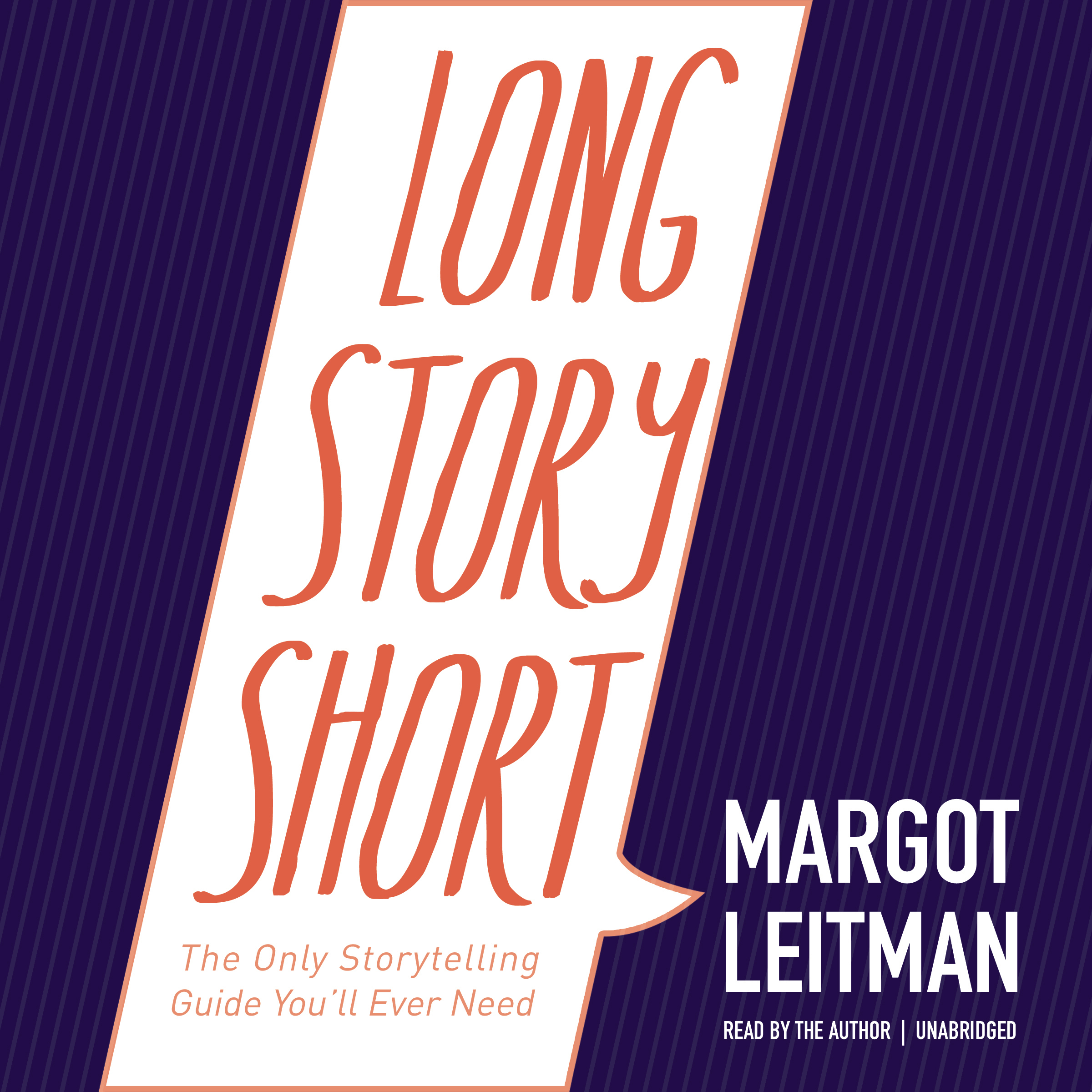 Printable Long Story Short: The Only Storytelling Guide You'll Ever Need Audiobook Cover Art