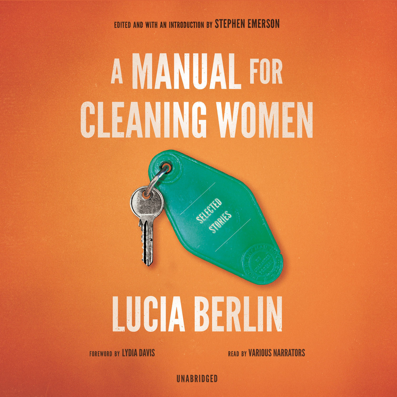 Printable A Manual for Cleaning Women: Selected Stories Audiobook Cover Art