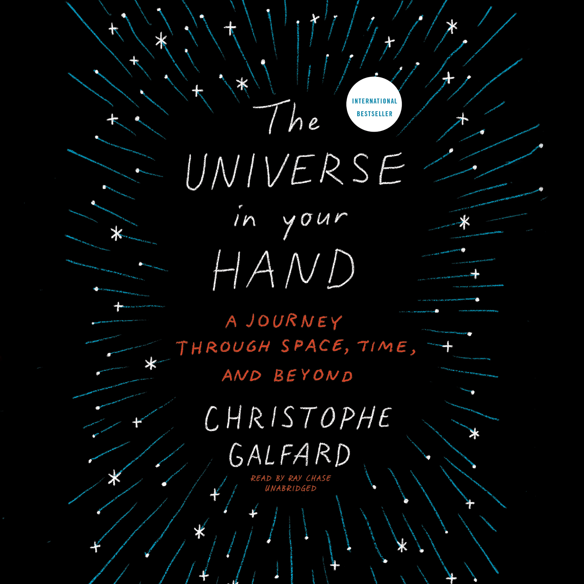 Printable The Universe in Your Hand: A Journey through Space, Time, and Beyond Audiobook Cover Art