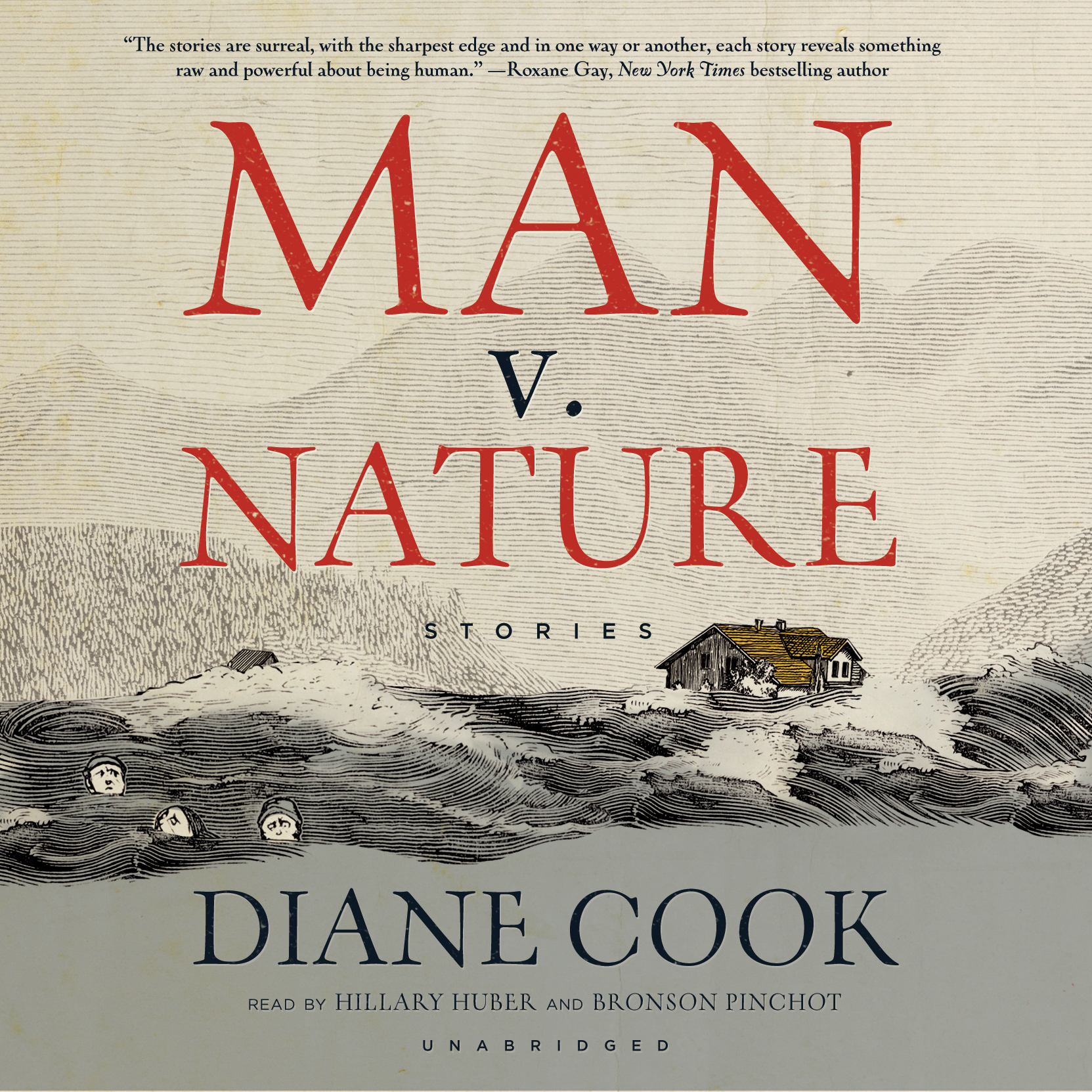 Printable Man v. Nature: Stories Audiobook Cover Art