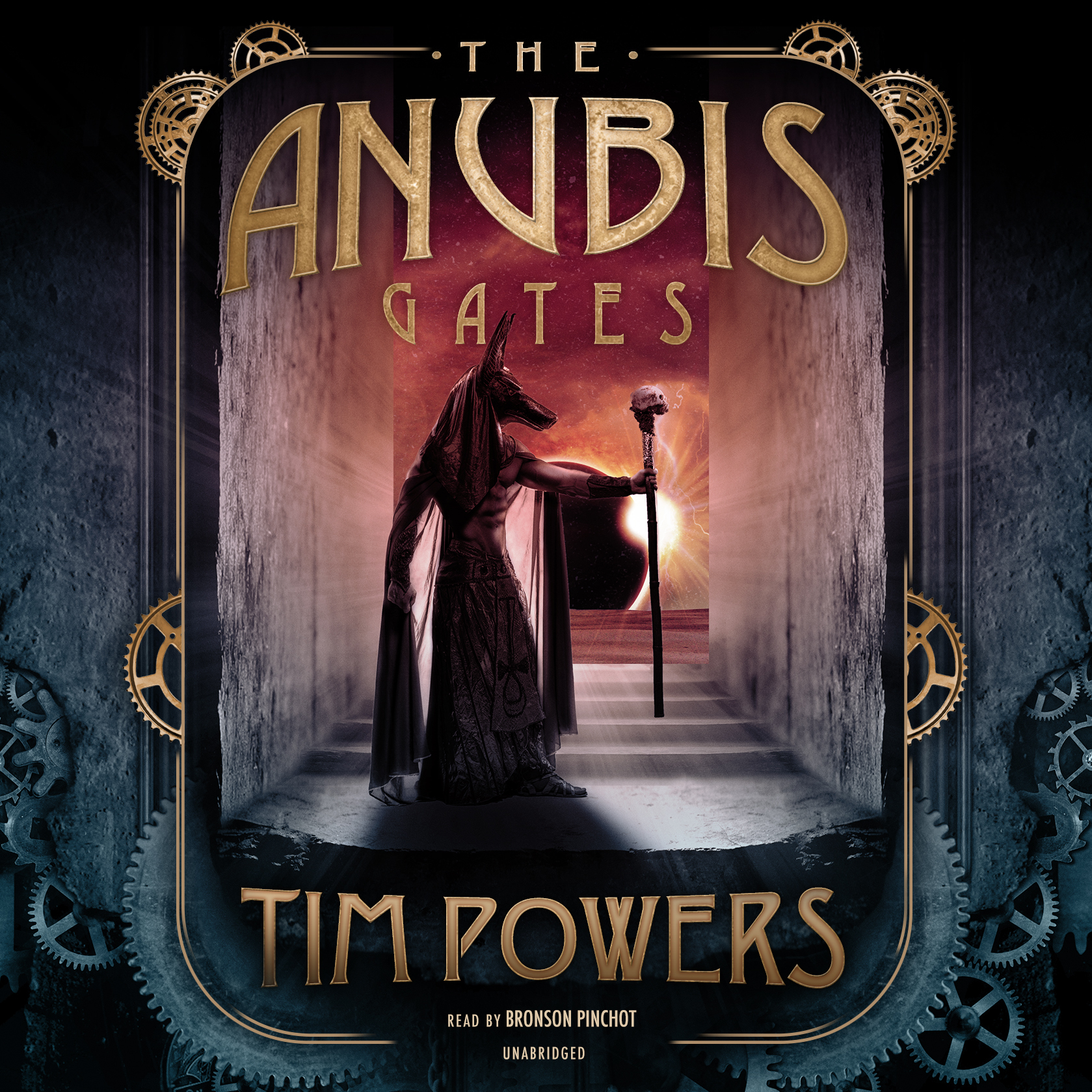 Printable The Anubis Gates Audiobook Cover Art