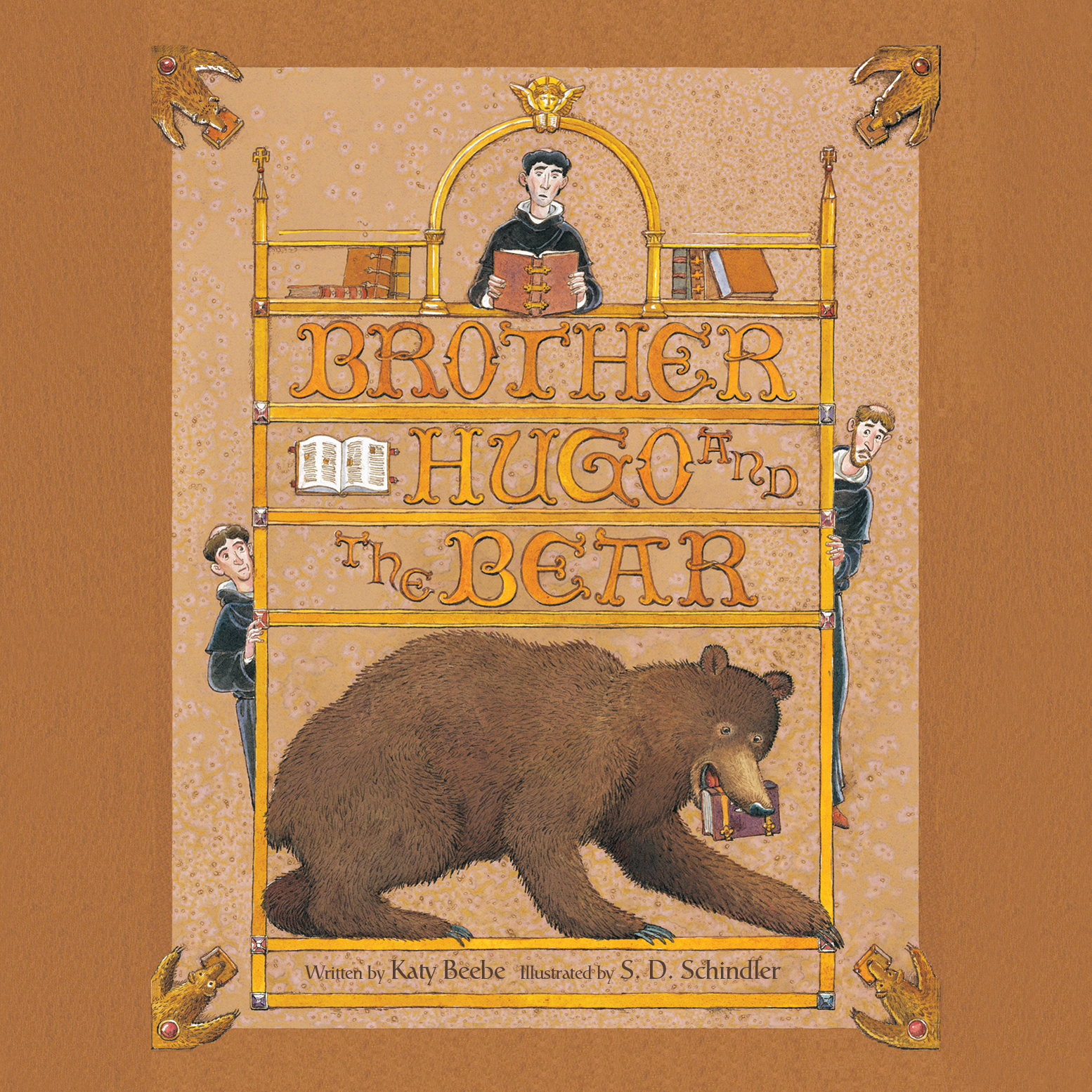 Printable Brother Hugo and the Bear Audiobook Cover Art