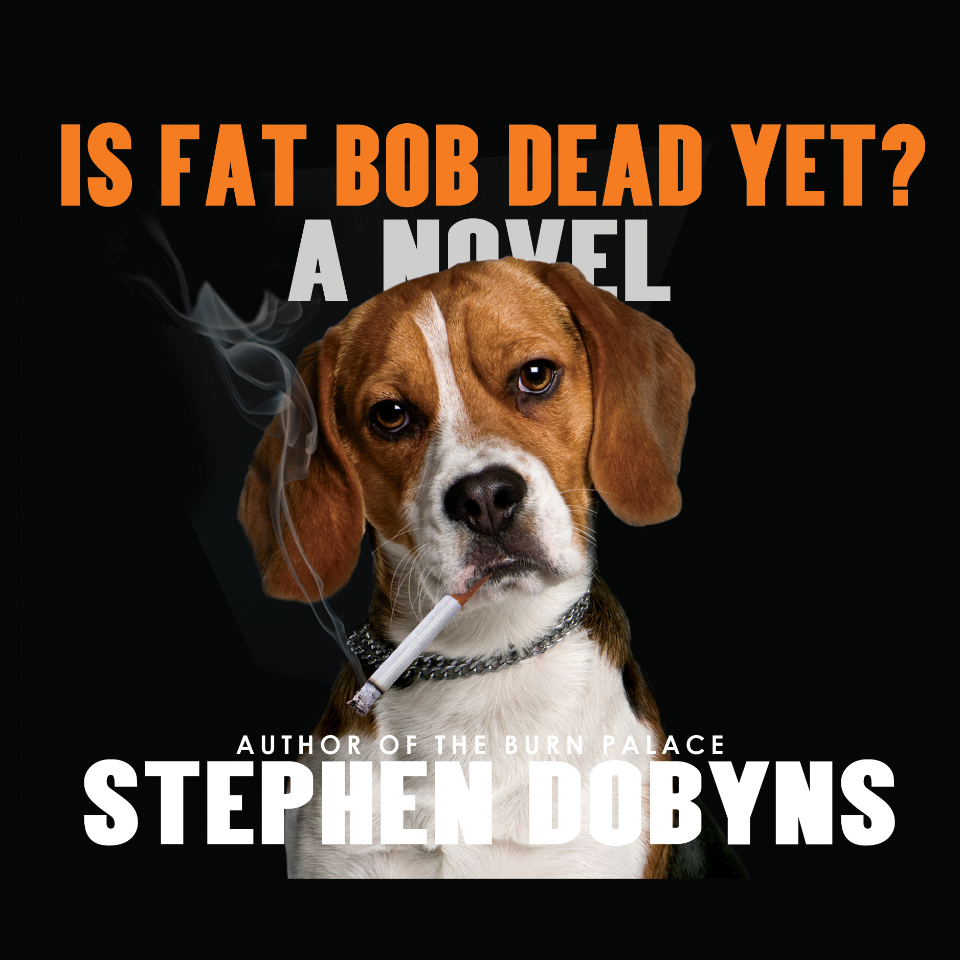 Printable Is Fat Bob Dead Yet? Audiobook Cover Art