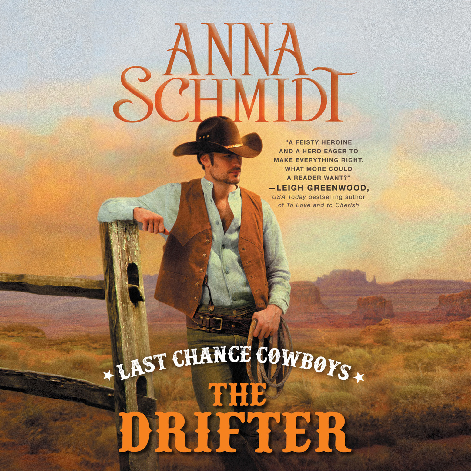 Printable Last Chance Cowboys: The Drifter Audiobook Cover Art