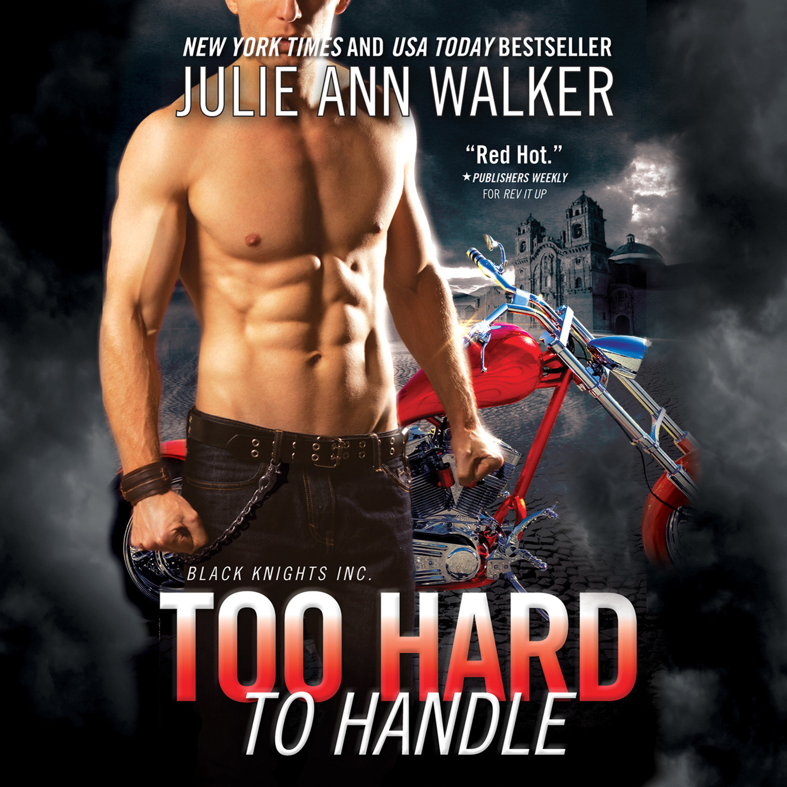 Printable Too Hard to Handle Audiobook Cover Art