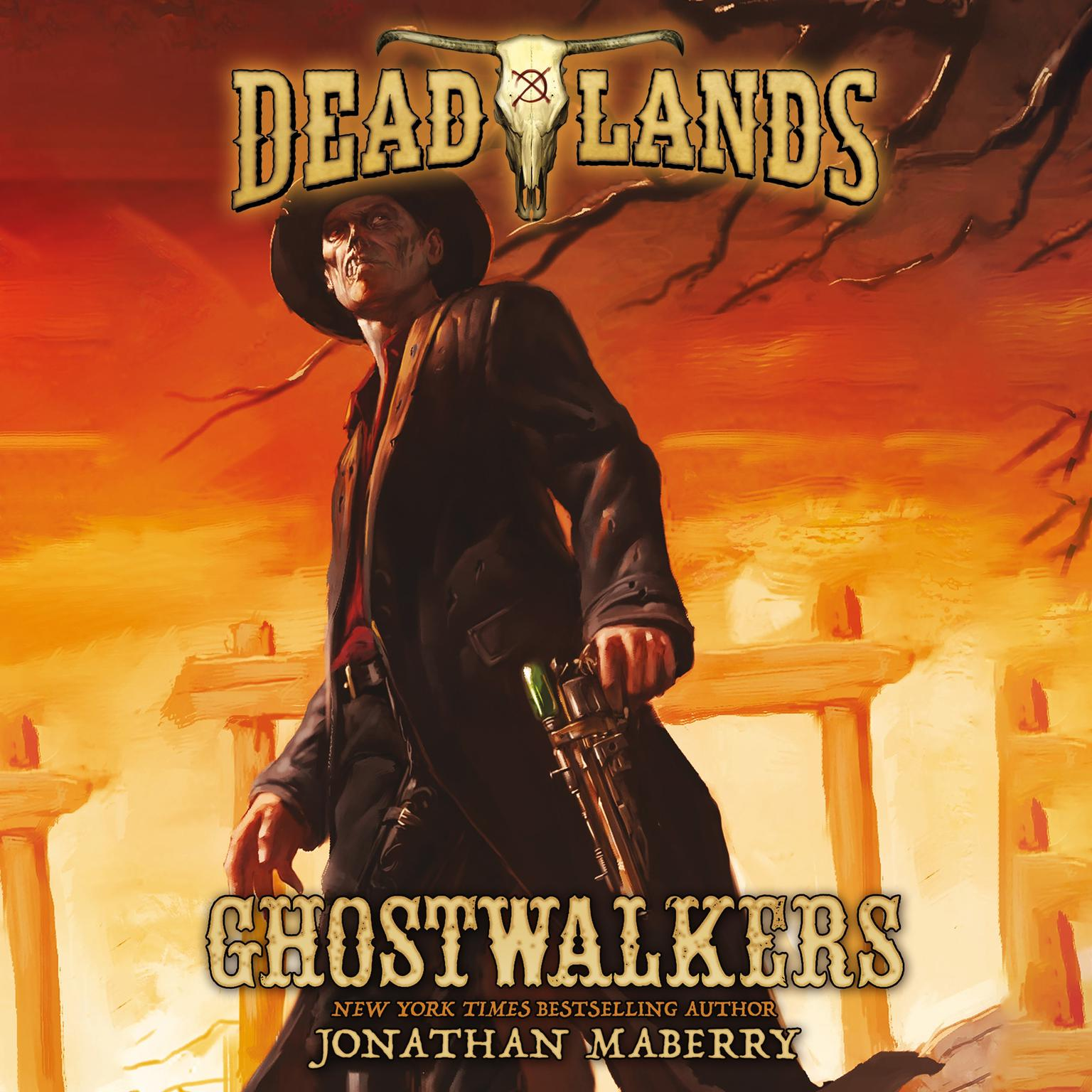 Printable Deadlands: Ghostwalkers Audiobook Cover Art