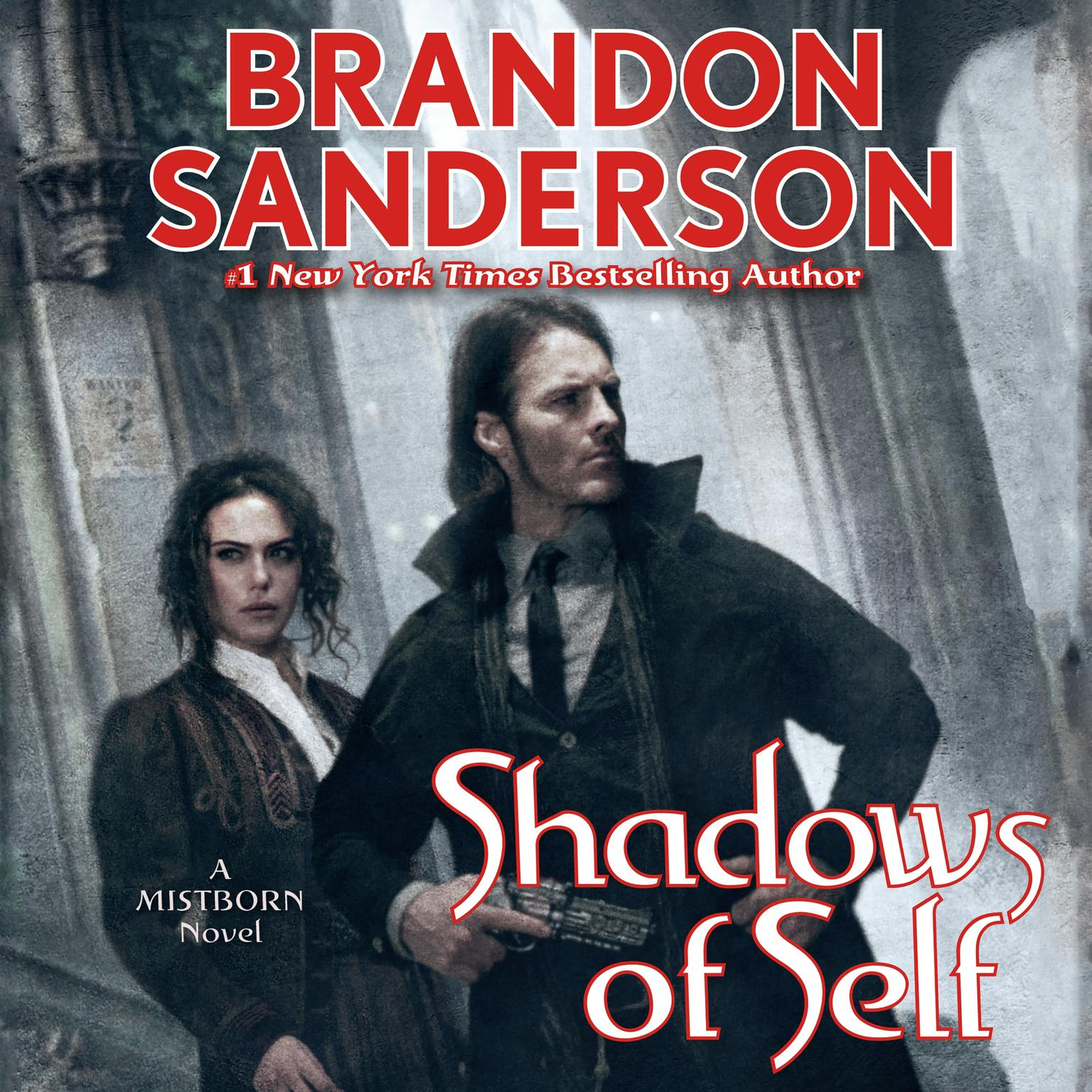 Printable Shadows of Self: A Mistborn Novel Audiobook Cover Art