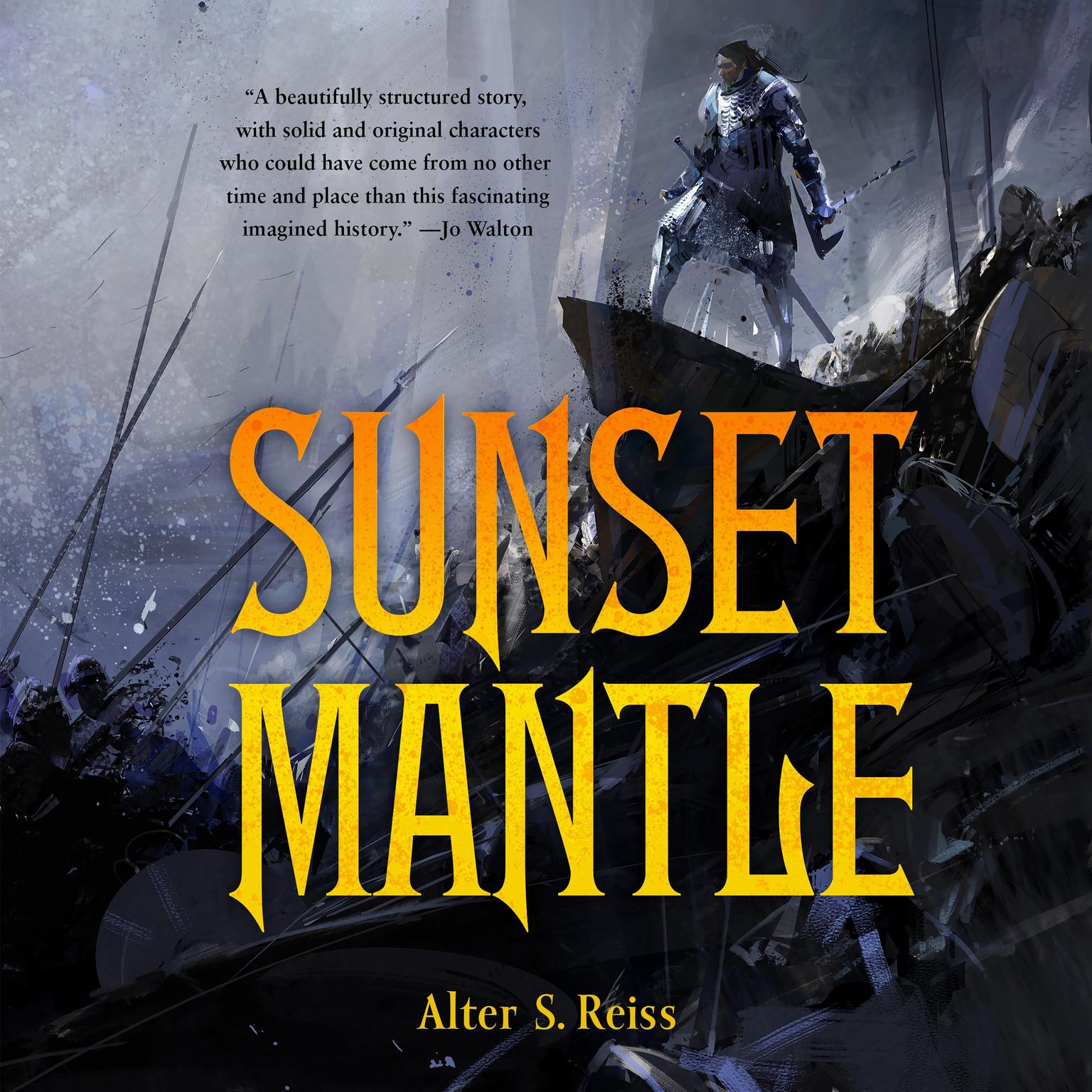 Printable Sunset Mantle Audiobook Cover Art