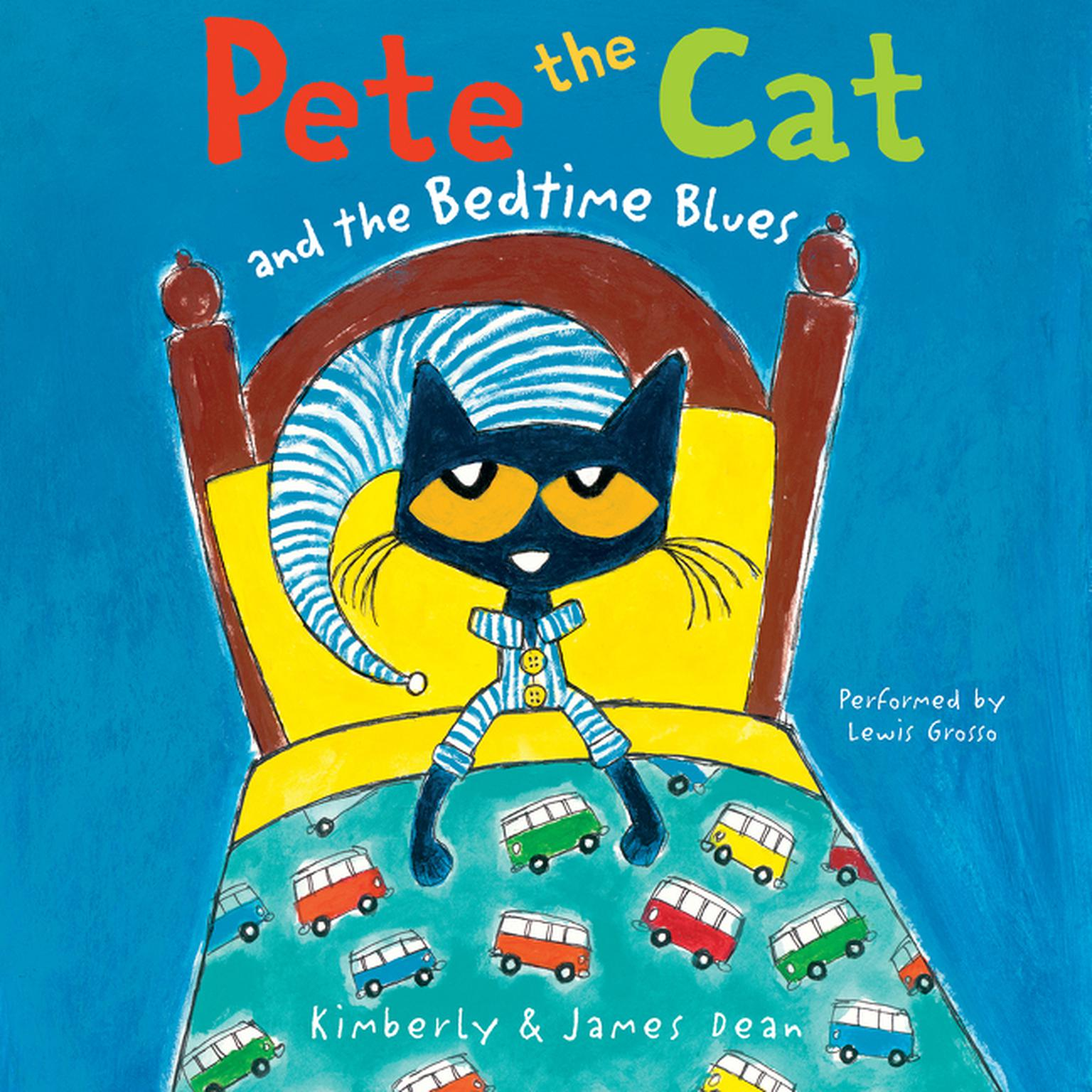 Printable Pete the Cat and the Bedtime Blues Audiobook Cover Art