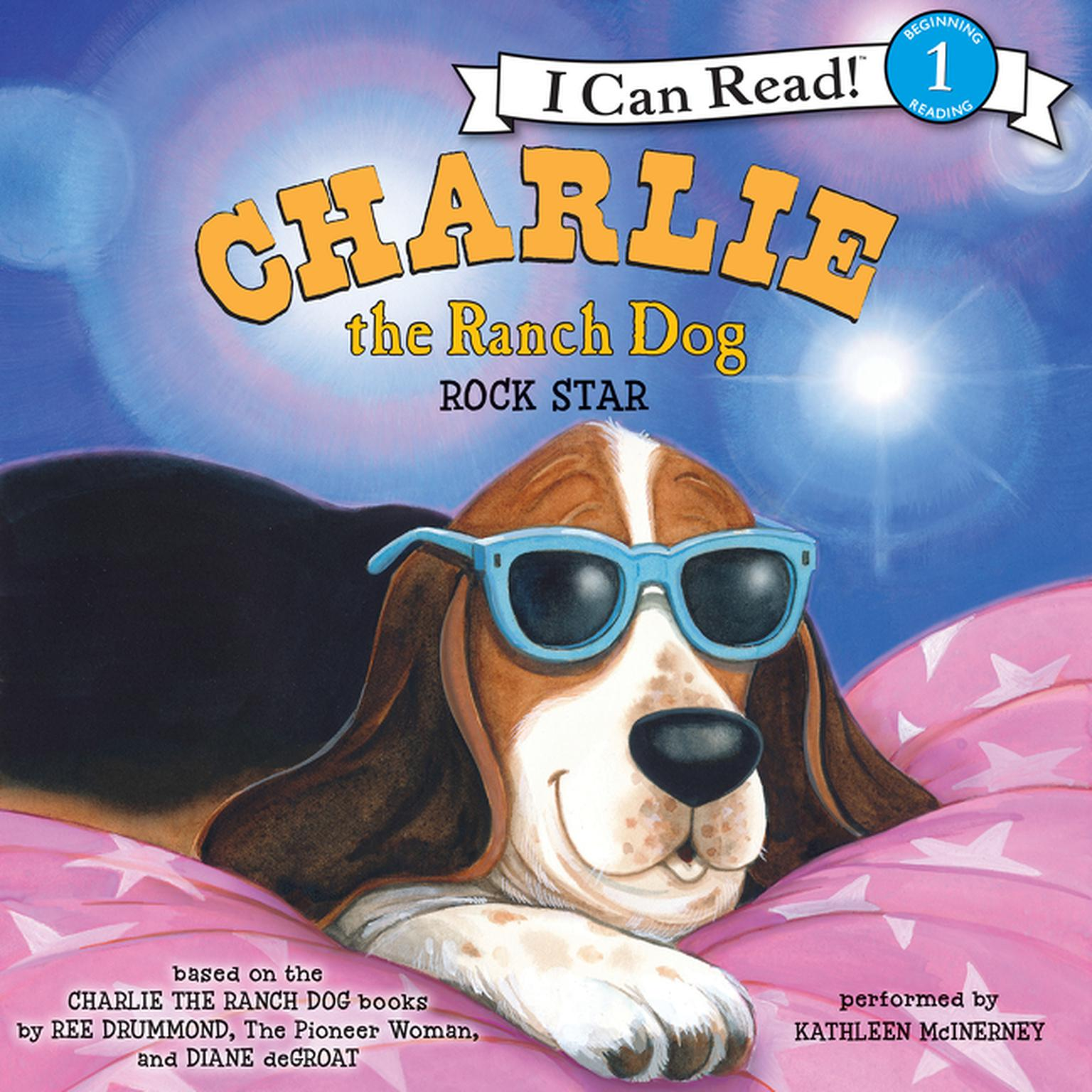 Printable Charlie the Ranch Dog: Rock Star Audiobook Cover Art