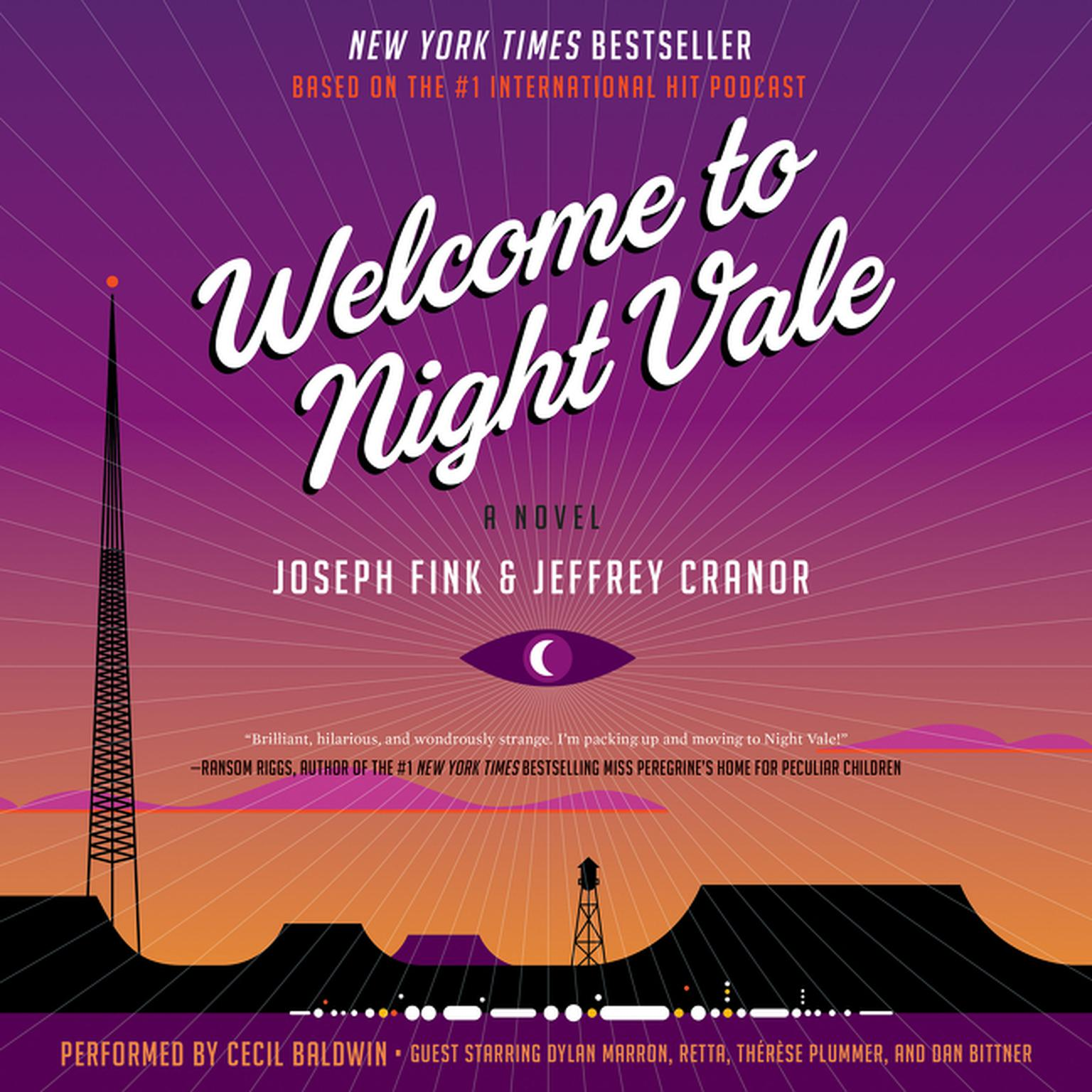 Printable Welcome to Night Vale: A Novel Audiobook Cover Art