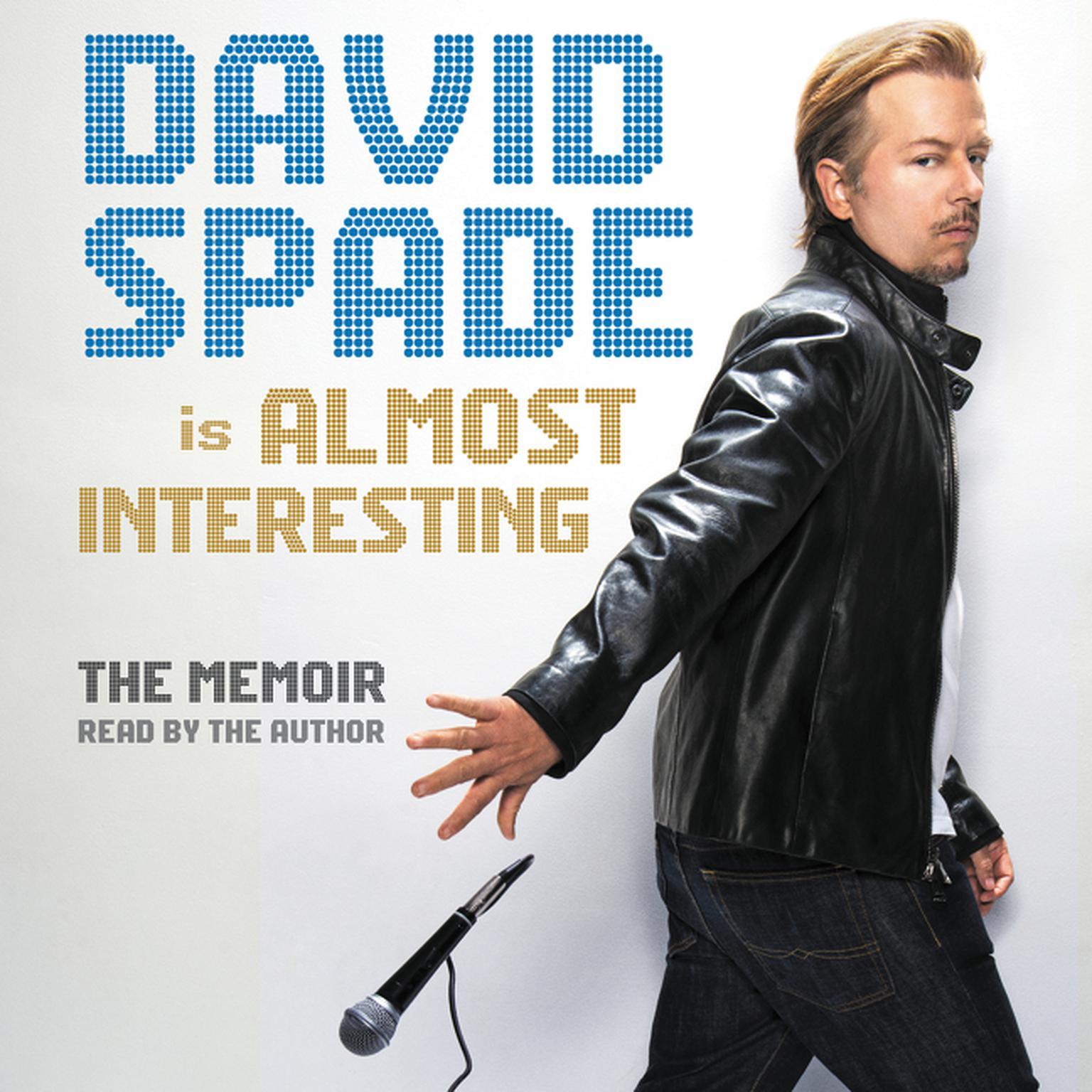 Printable Almost Interesting: The Memoir Audiobook Cover Art