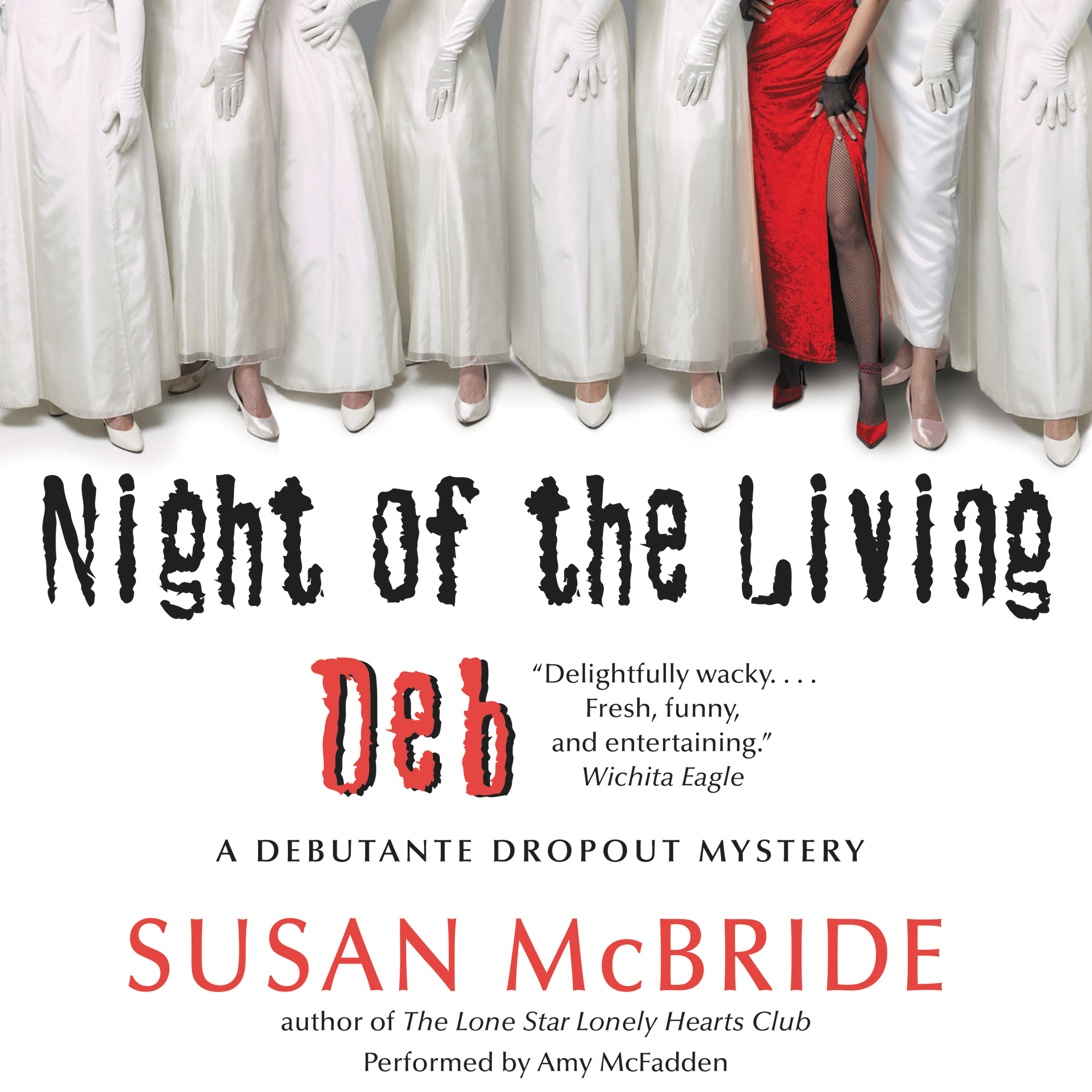 Printable Night of the Living Deb: A Debutante Dropout Mystery Audiobook Cover Art