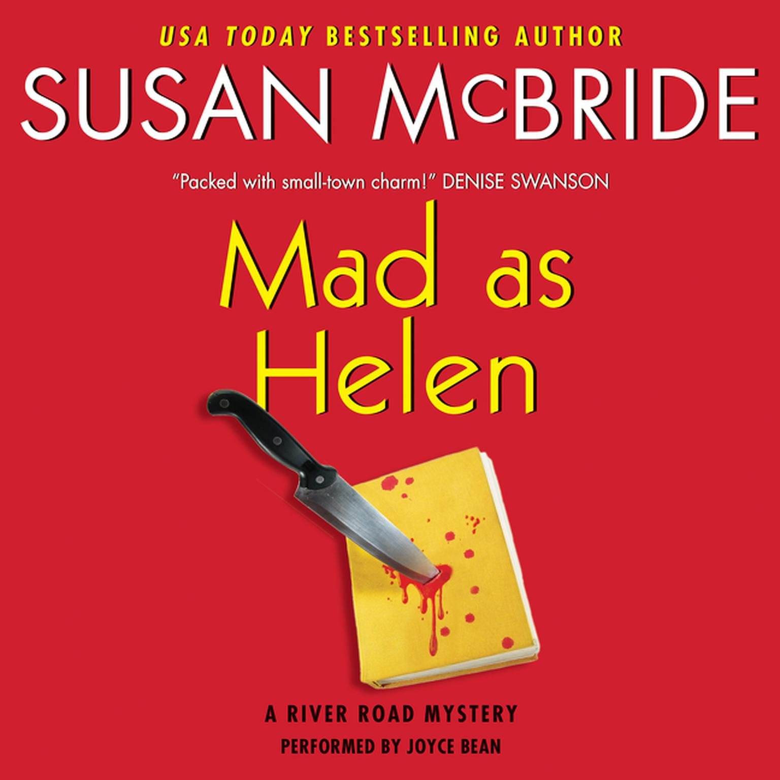 Printable Mad as Helen: A River Road Mystery Audiobook Cover Art