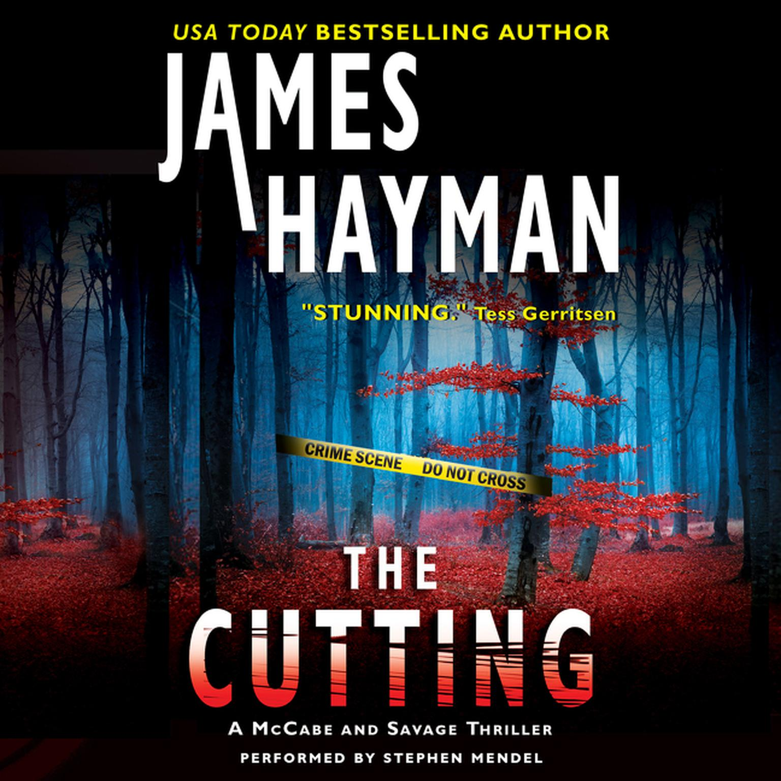 Printable The Cutting: A McCabe and Savage Thriller Audiobook Cover Art