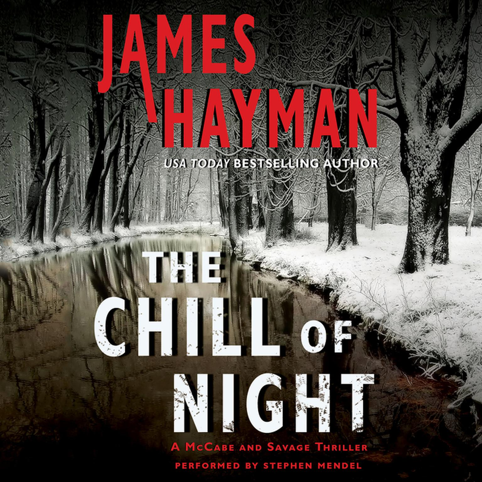 Printable The Chill of Night: A McCabe and Savage Thriller Audiobook Cover Art