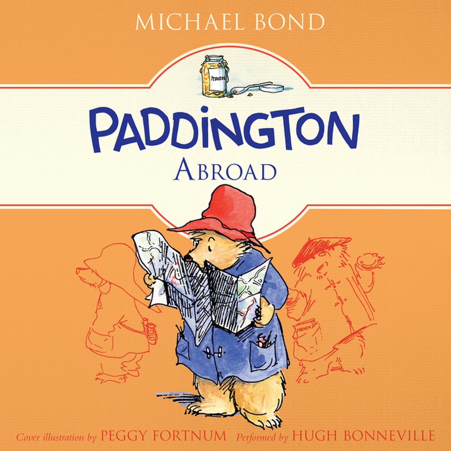 Printable Paddington Abroad Audiobook Cover Art