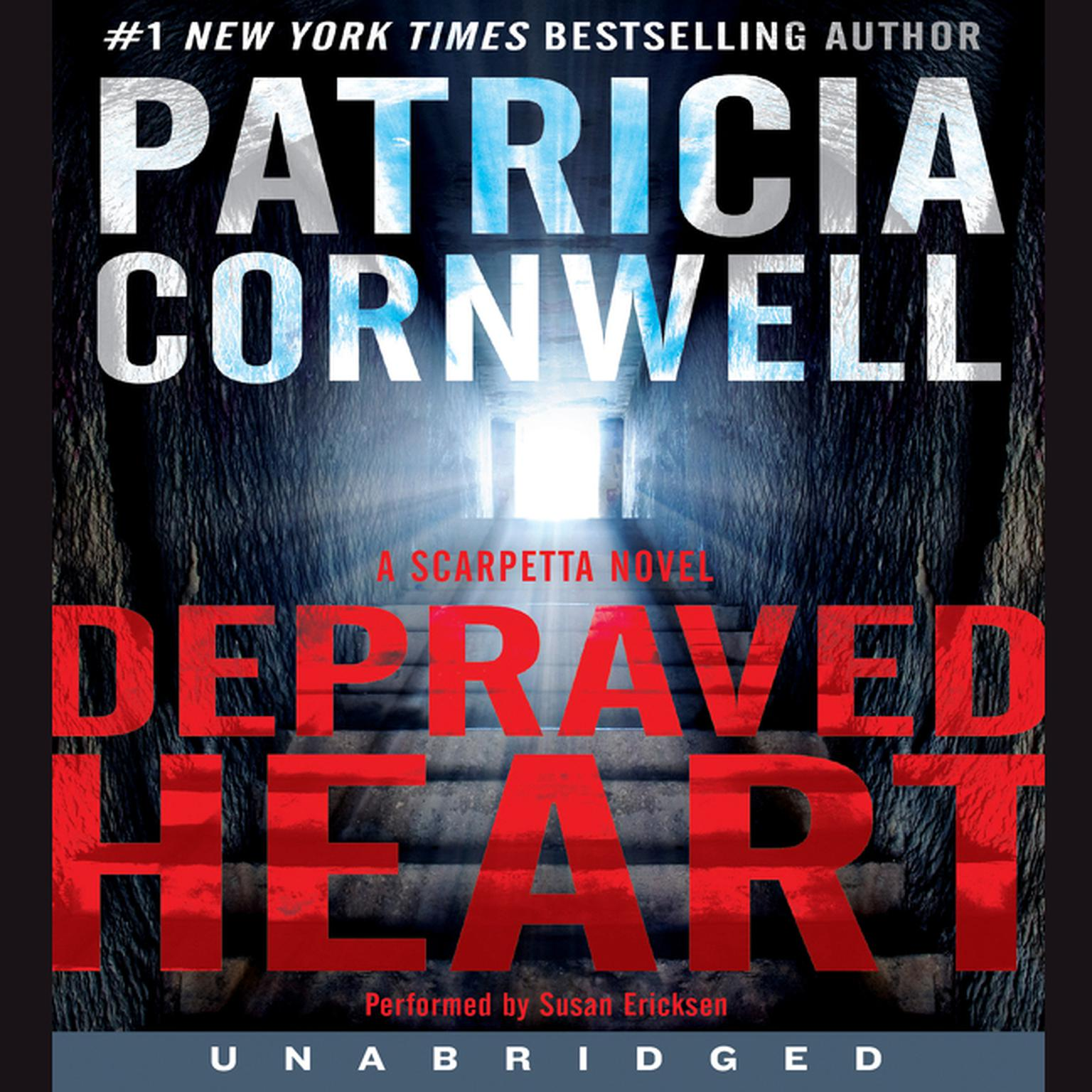 Printable Depraved Heart: A Scarpetta Novel Audiobook Cover Art