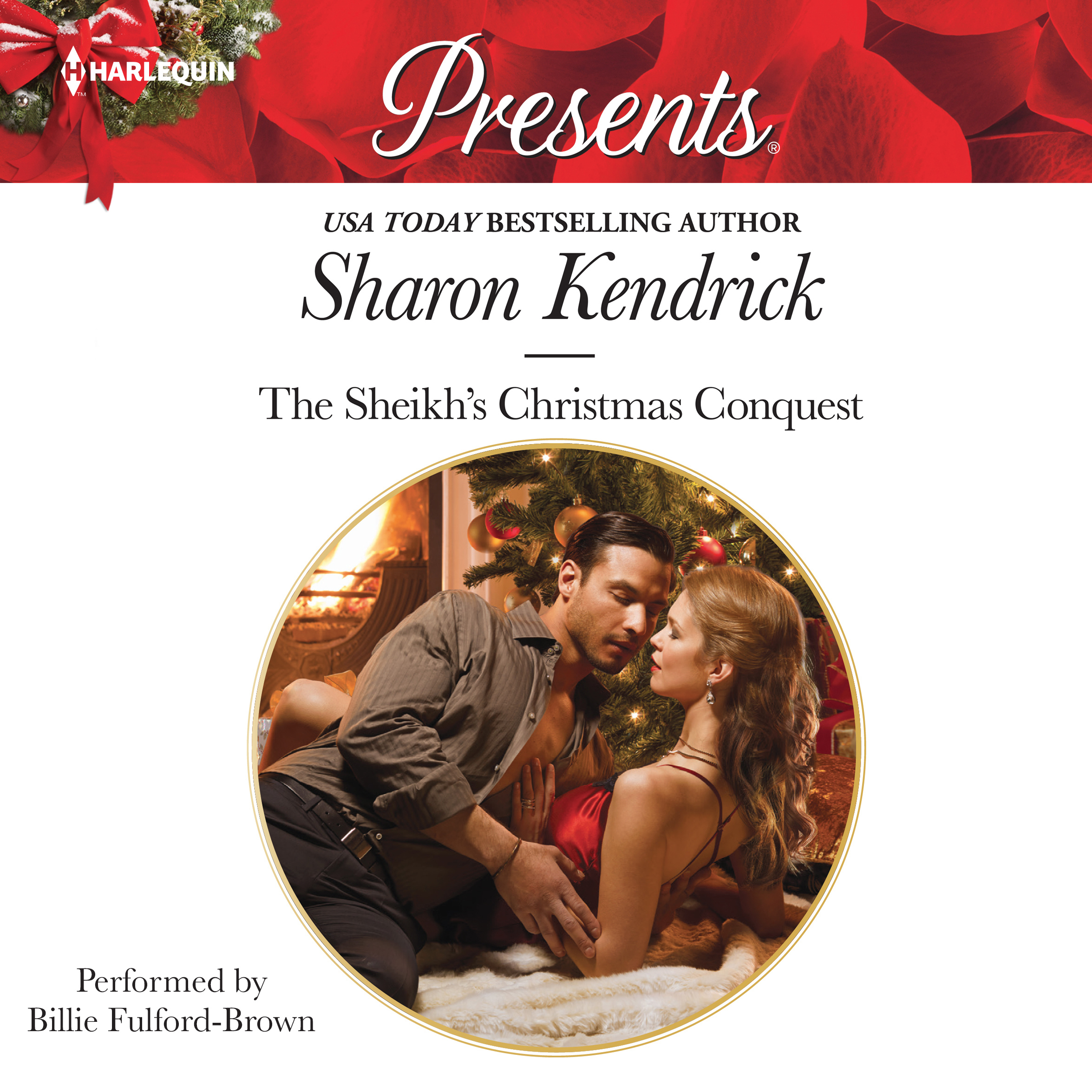 Printable The Sheikh's Christmas Conquest Audiobook Cover Art