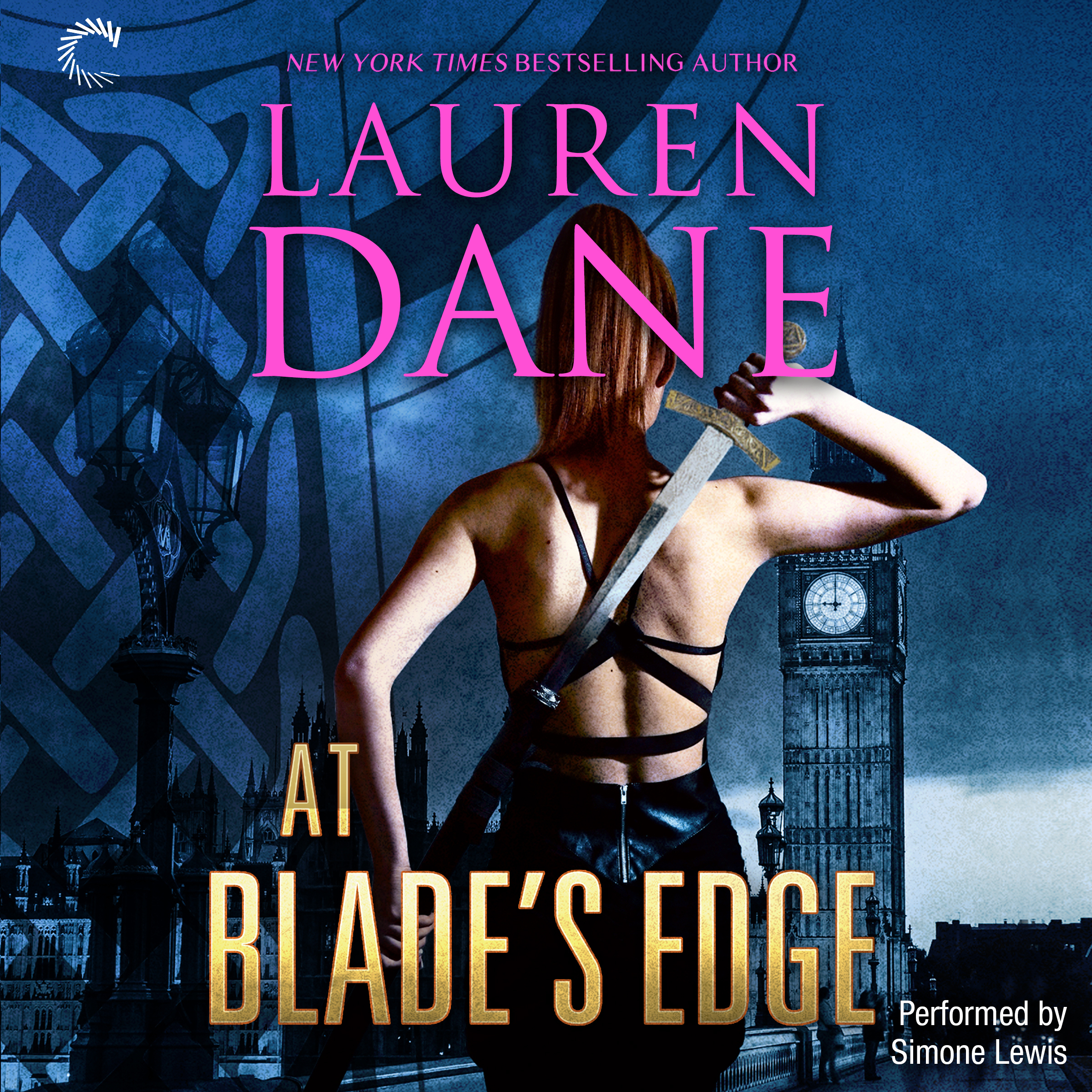 Printable At Blade's Edge: Goddess With a Blade Audiobook Cover Art