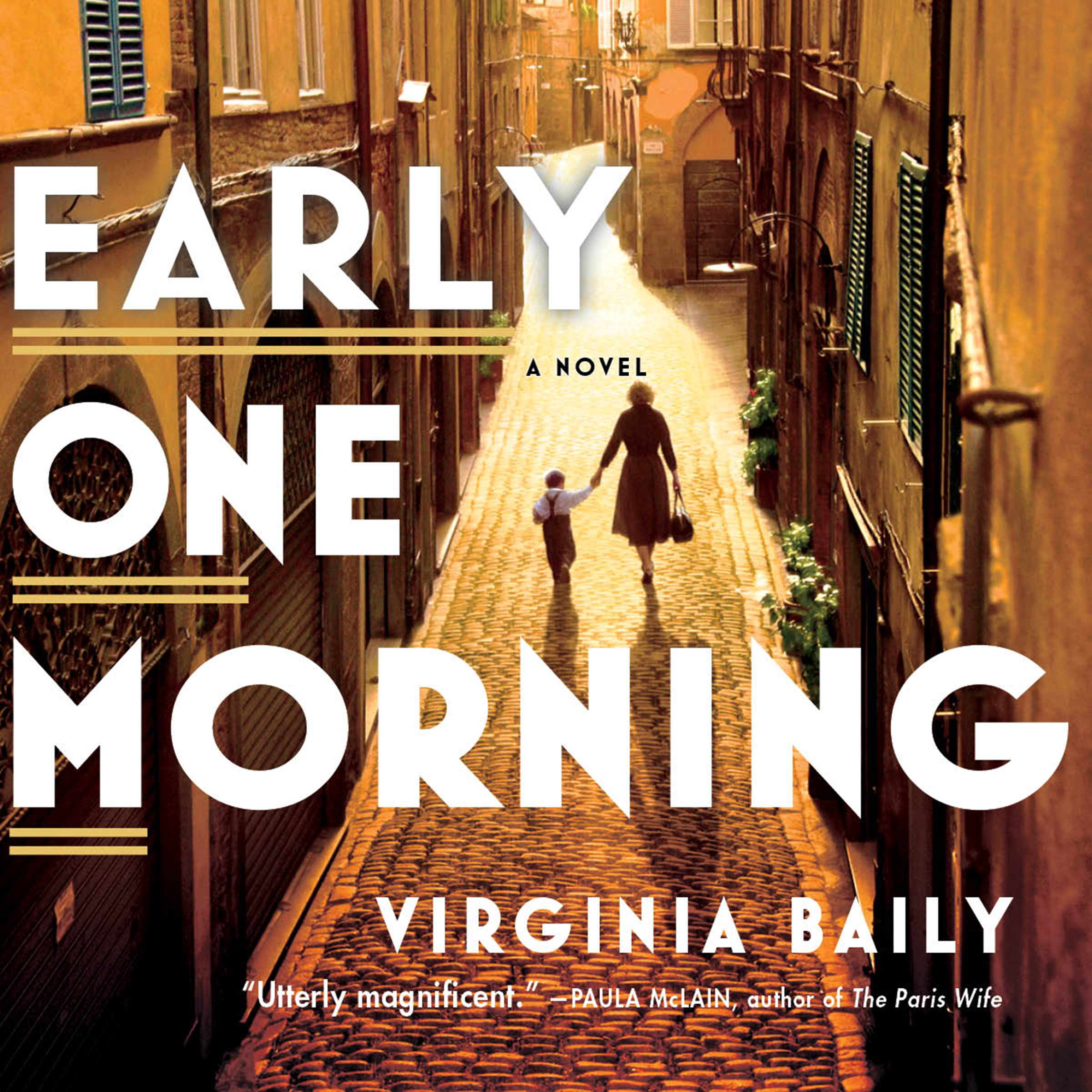 Printable Early One Morning Audiobook Cover Art