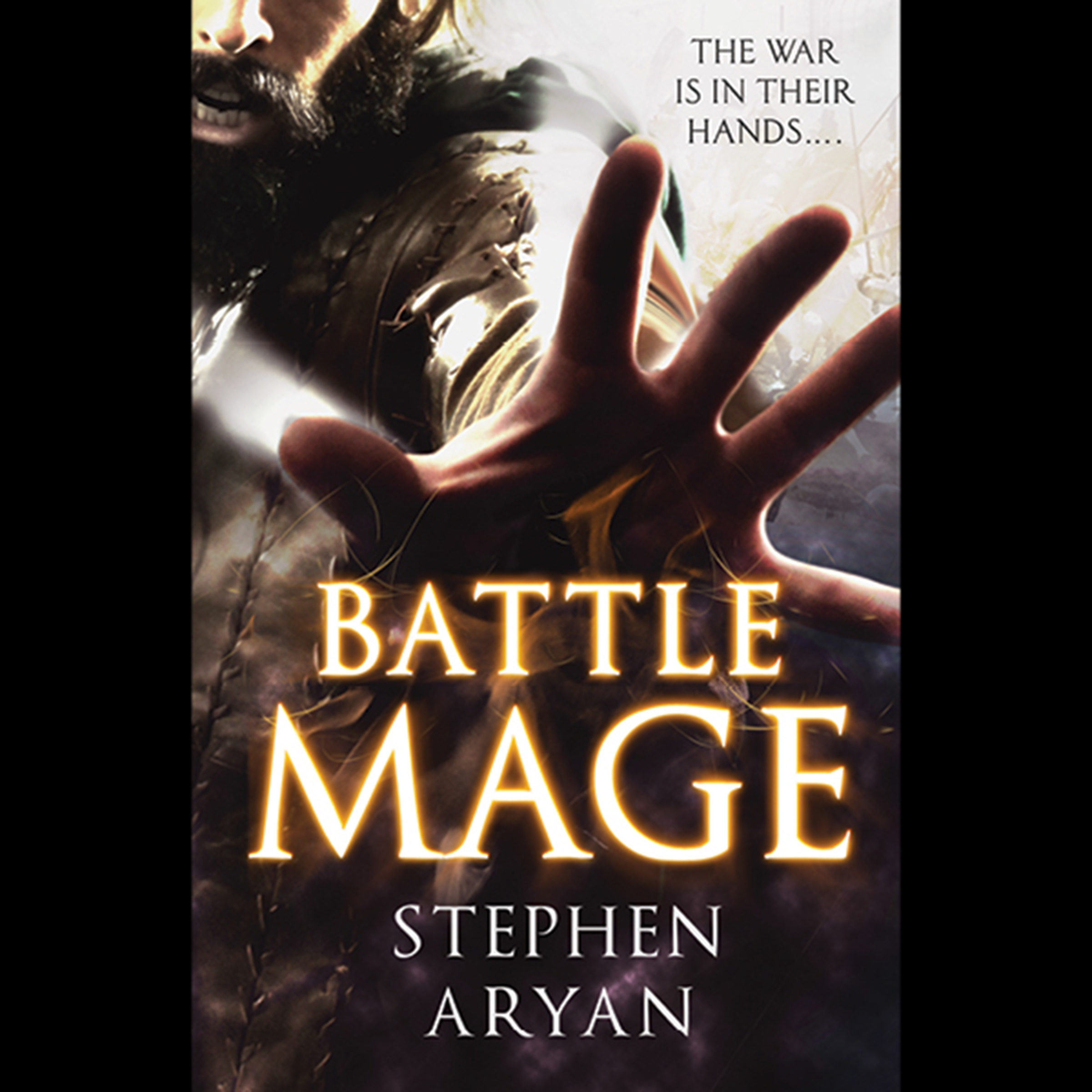 Printable Battlemage Audiobook Cover Art