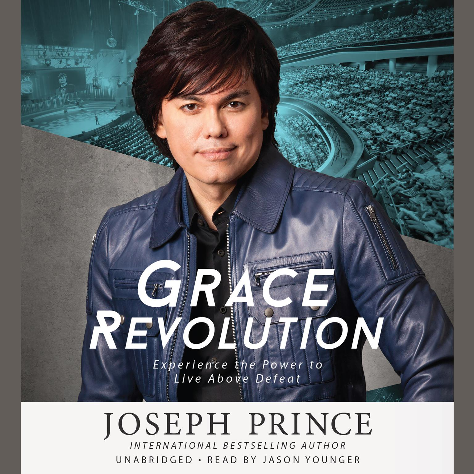 Printable Grace Revolution: Experience the Power to Live Above Defeat Audiobook Cover Art