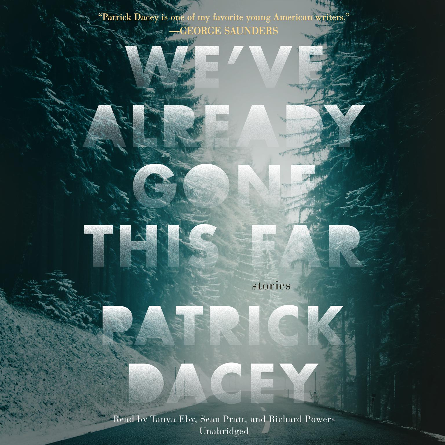 Printable We've Already Gone This Far Audiobook Cover Art